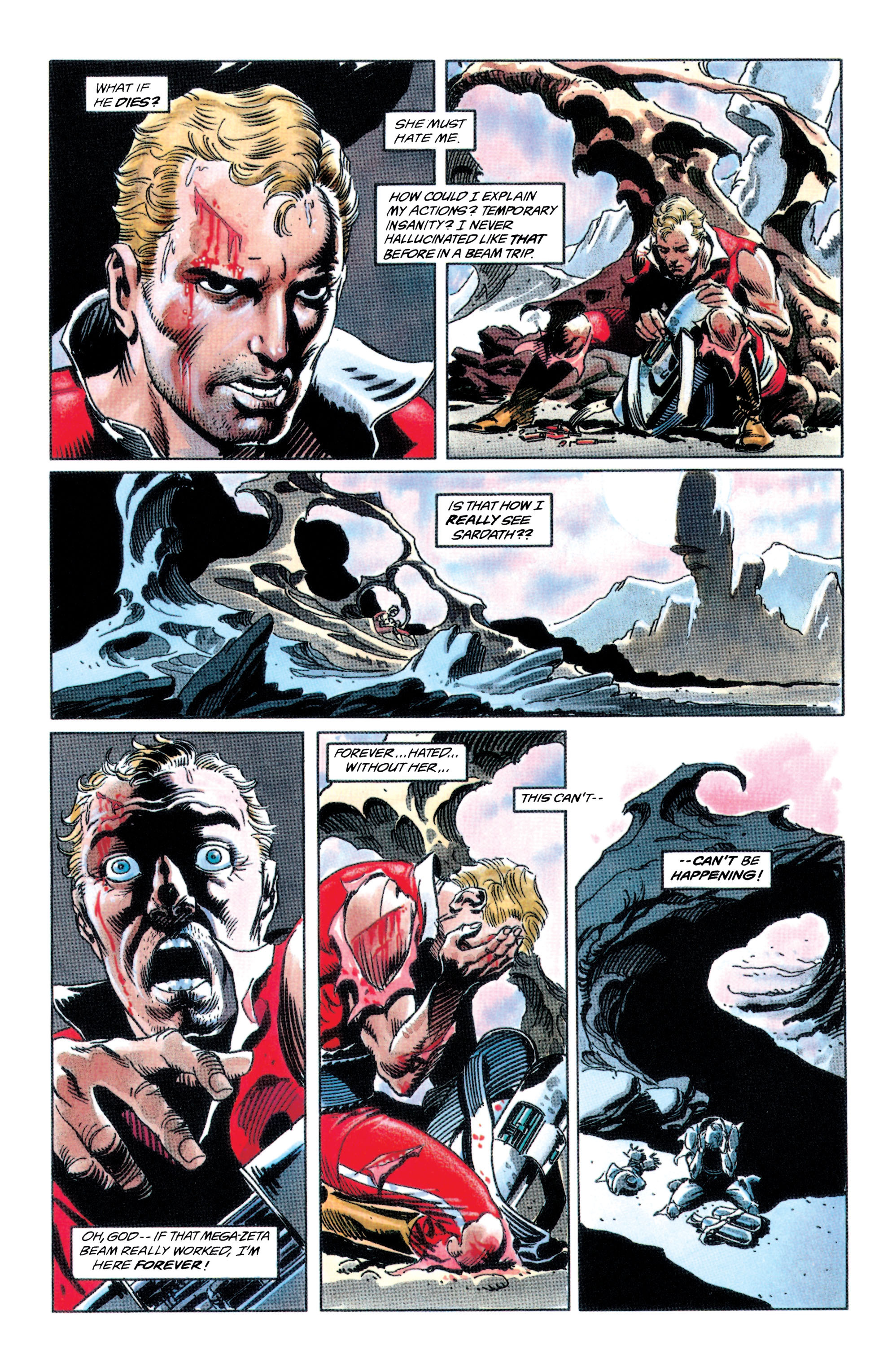 Read online Adam Strange (1990) comic -  Issue #2 - 10