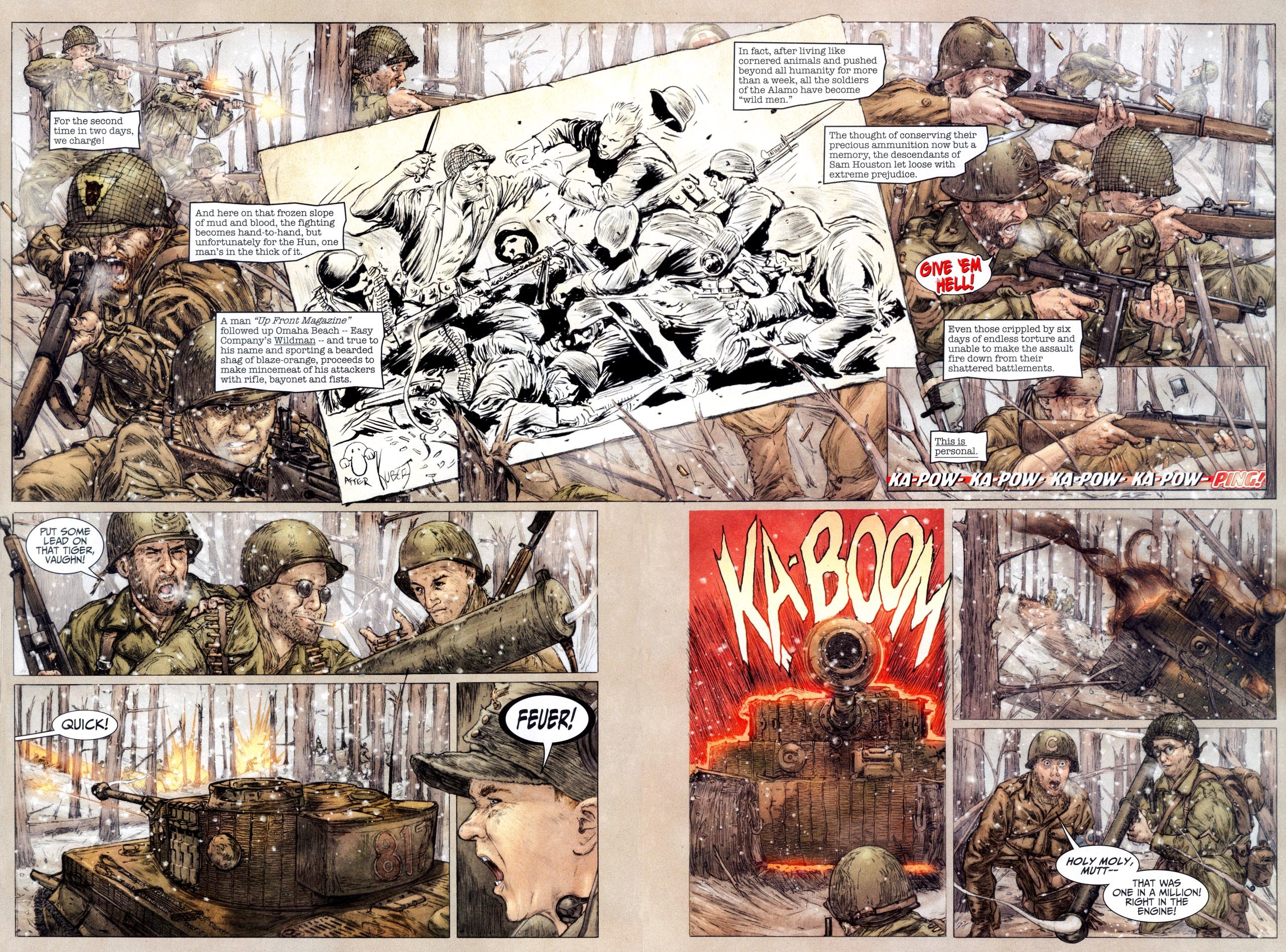 Read online Sgt. Rock: The Lost Battalion comic -  Issue #6 - 11