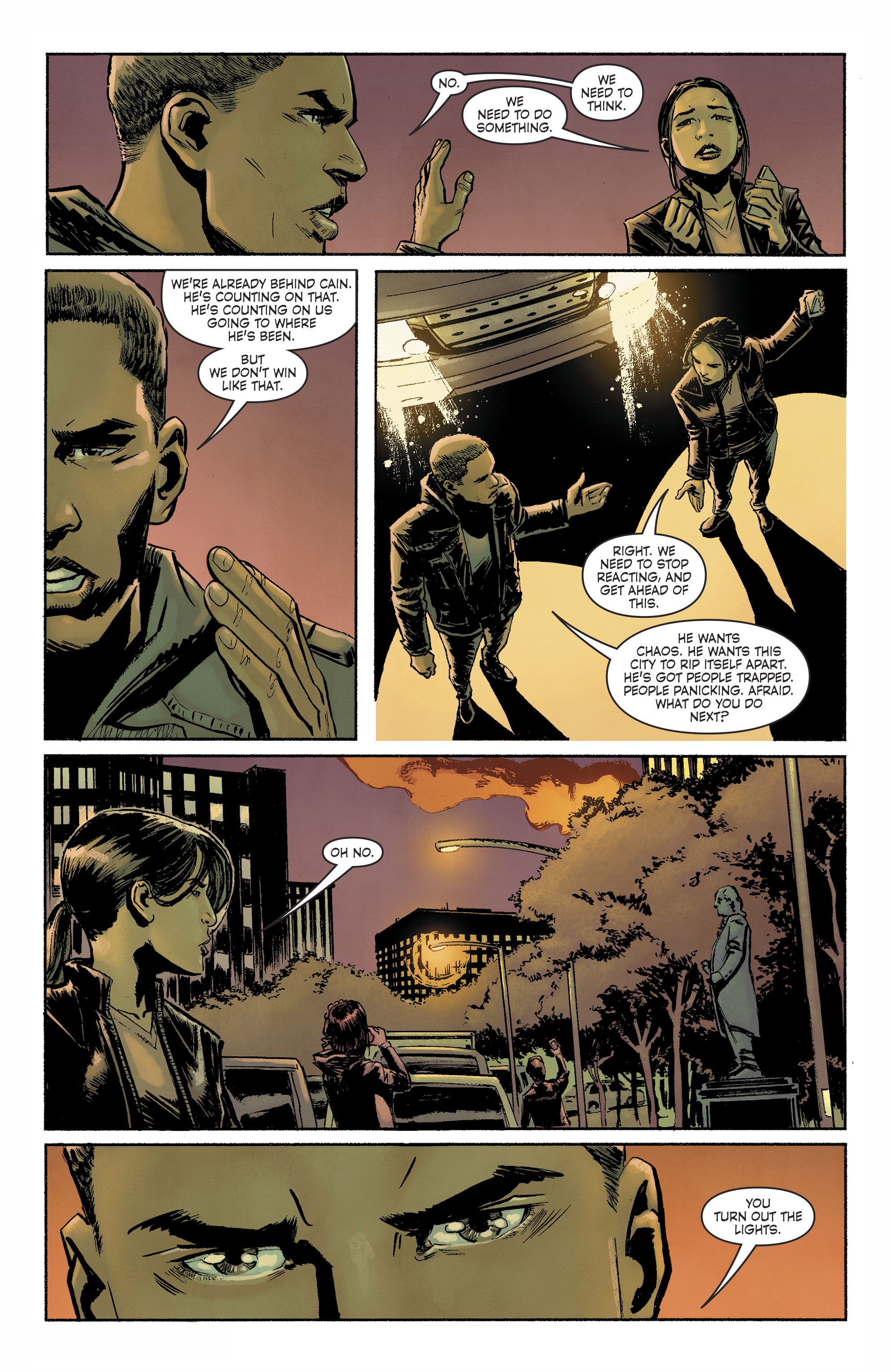 Read online Savage Things comic -  Issue #3 - 11