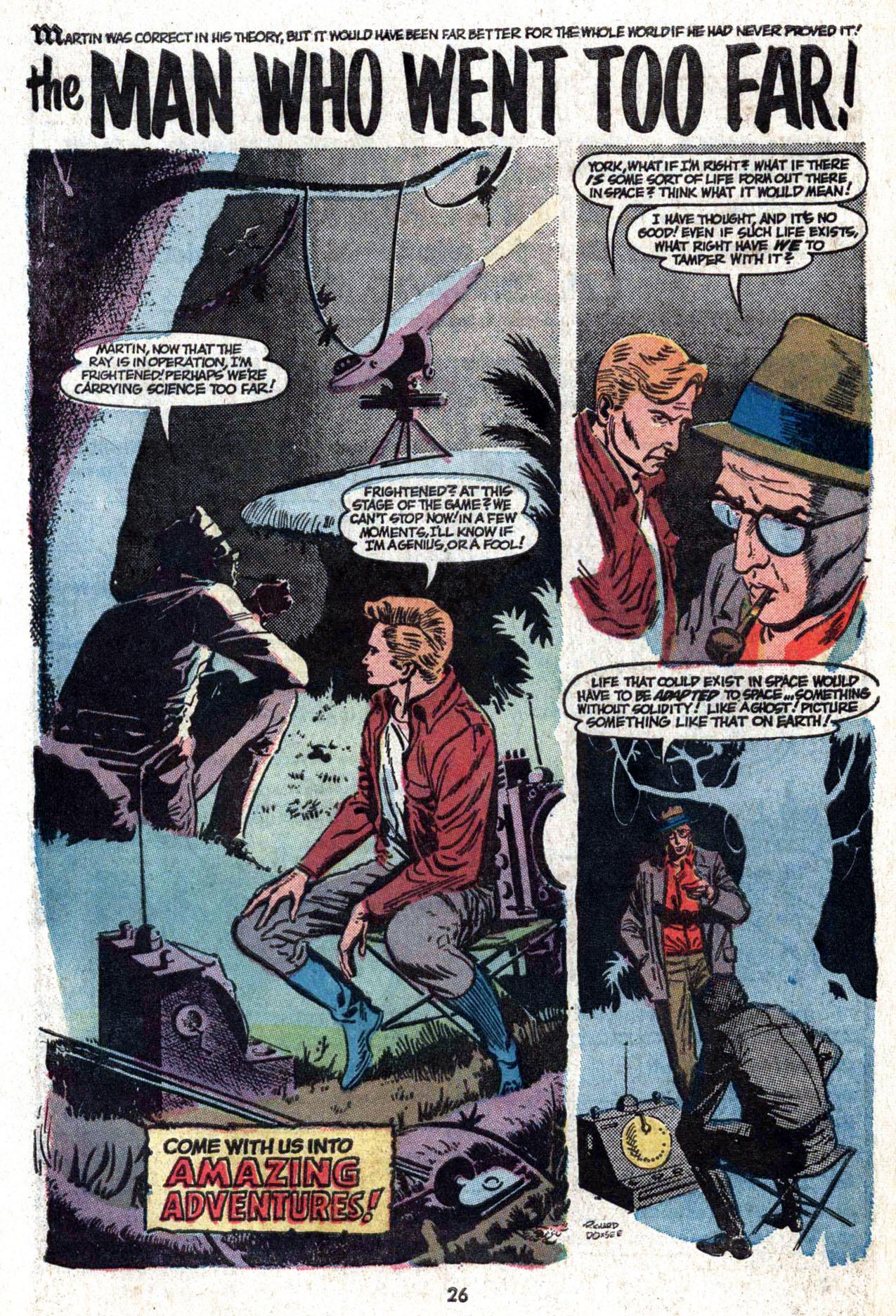 Read online Amazing Adventures (1970) comic -  Issue #22 - 26