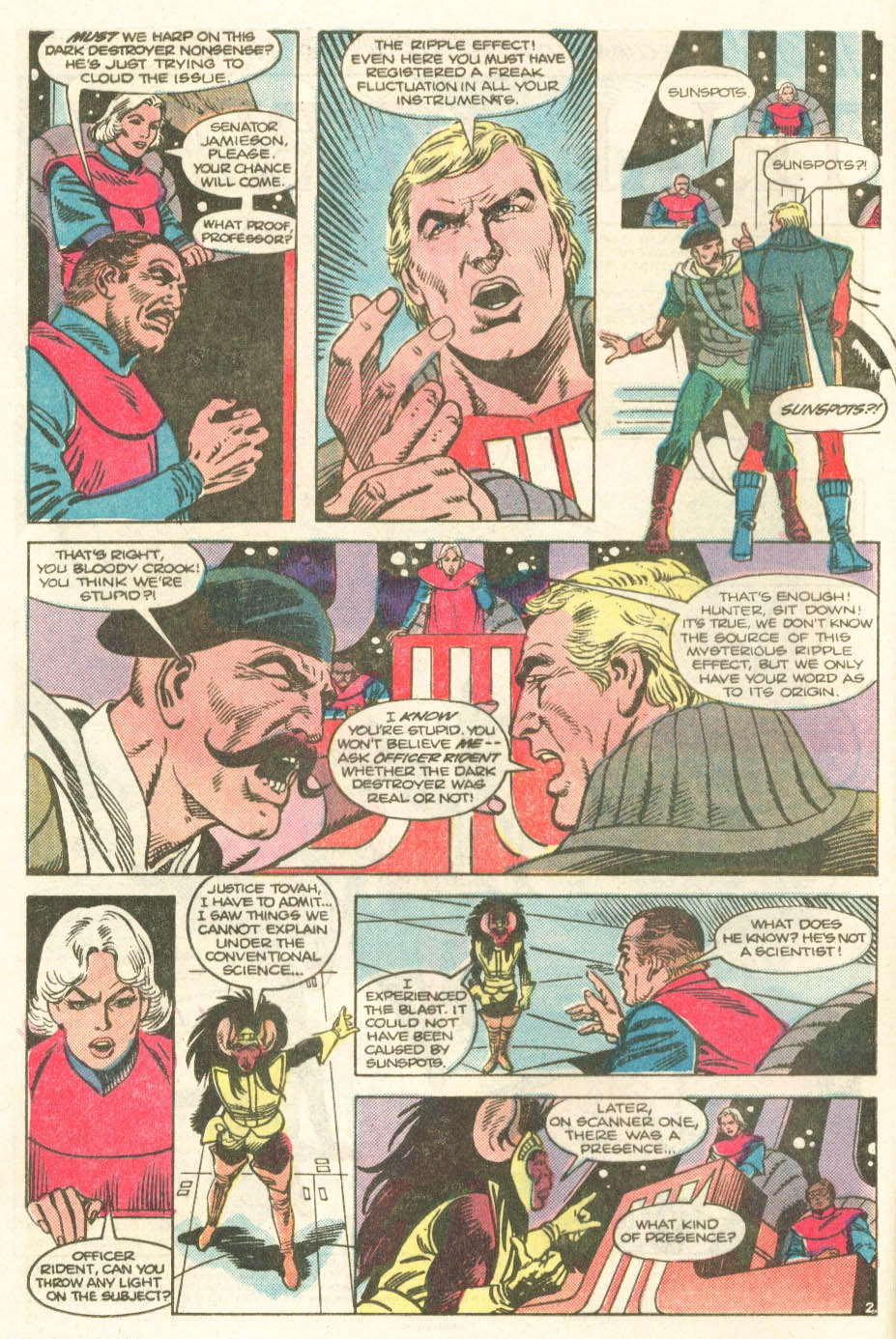 Read online Atari Force (1984) comic -  Issue #20 - 4