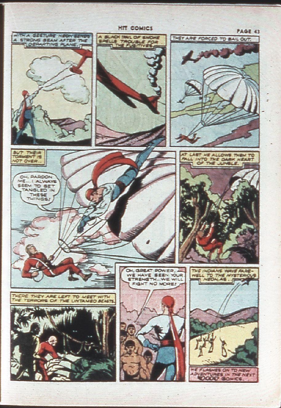 Read online Hit Comics comic -  Issue #10 - 45
