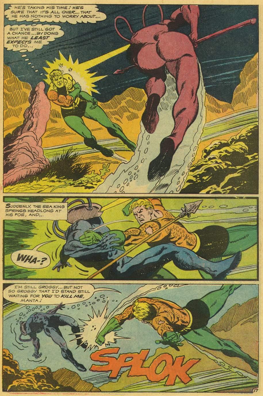 Read online Aquaman (1962) comic -  Issue #42 - 23