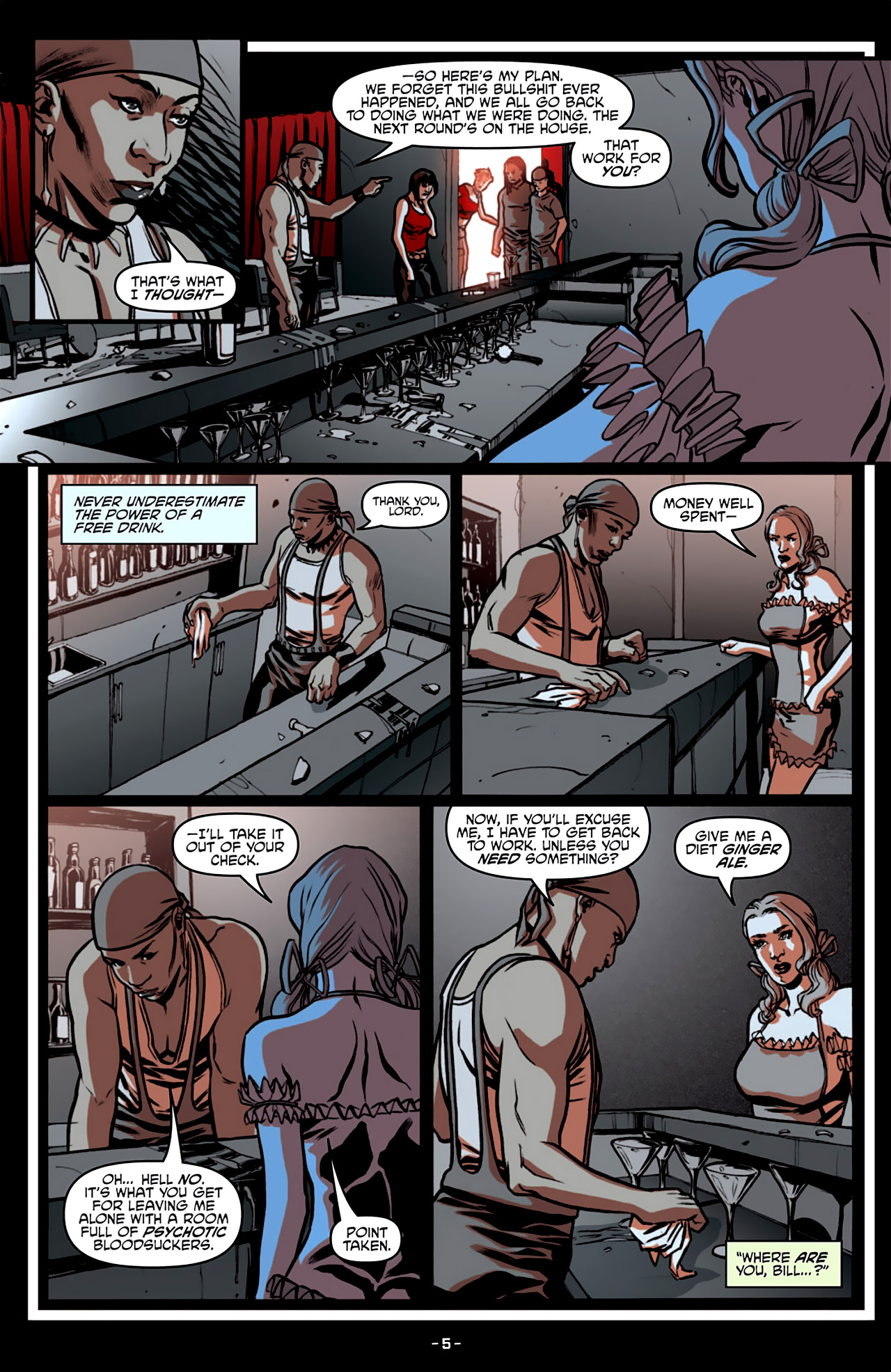 Read online True Blood: French Quarter comic -  Issue #3 - 10