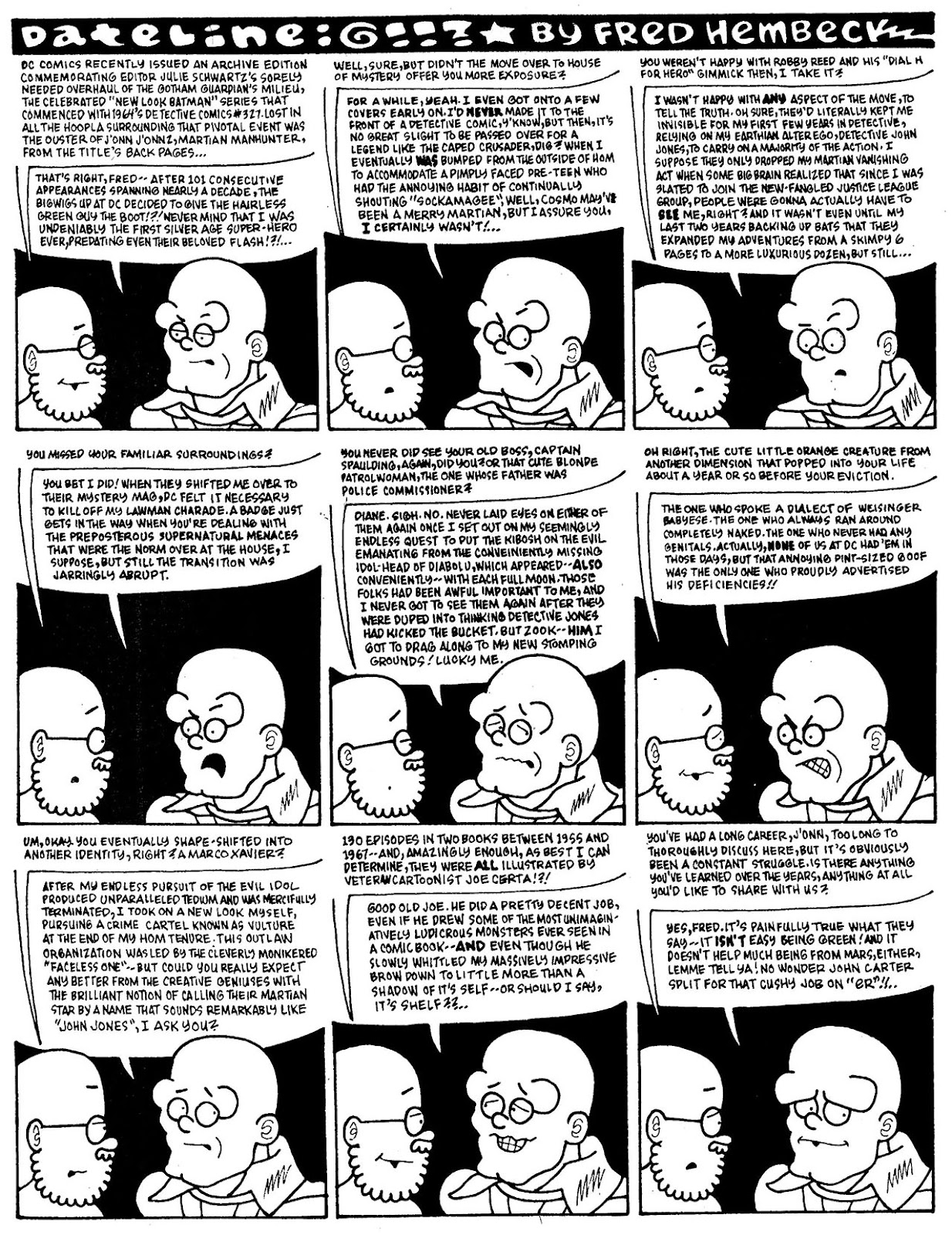 Read online The Nearly Complete Essential Hembeck Archives Omnibus comic -  Issue # TPB (Part 7) - 23