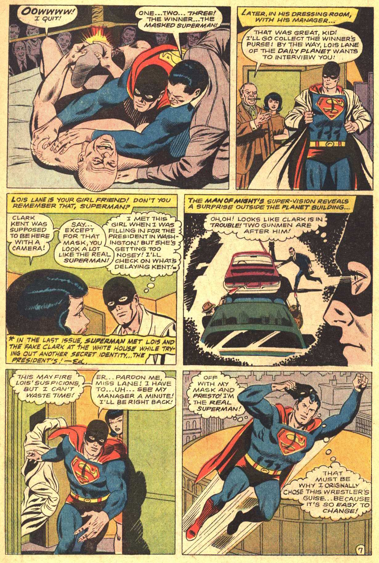 Read online Action Comics (1938) comic -  Issue #372 - 10