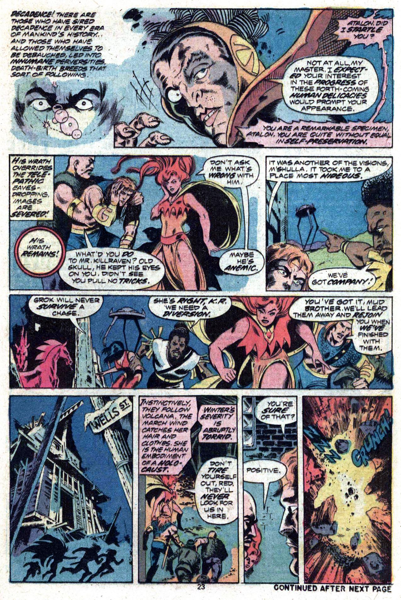Read online Amazing Adventures (1970) comic -  Issue #27 - 24