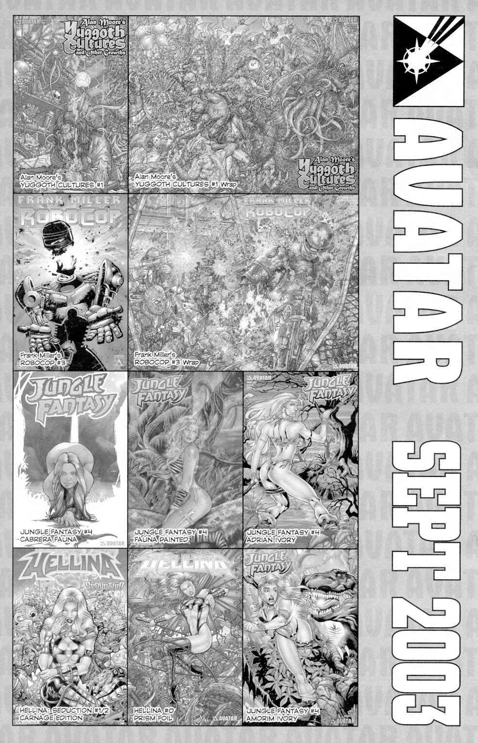 Read online Jungle Fantasy (2002) comic -  Issue #3 - 32