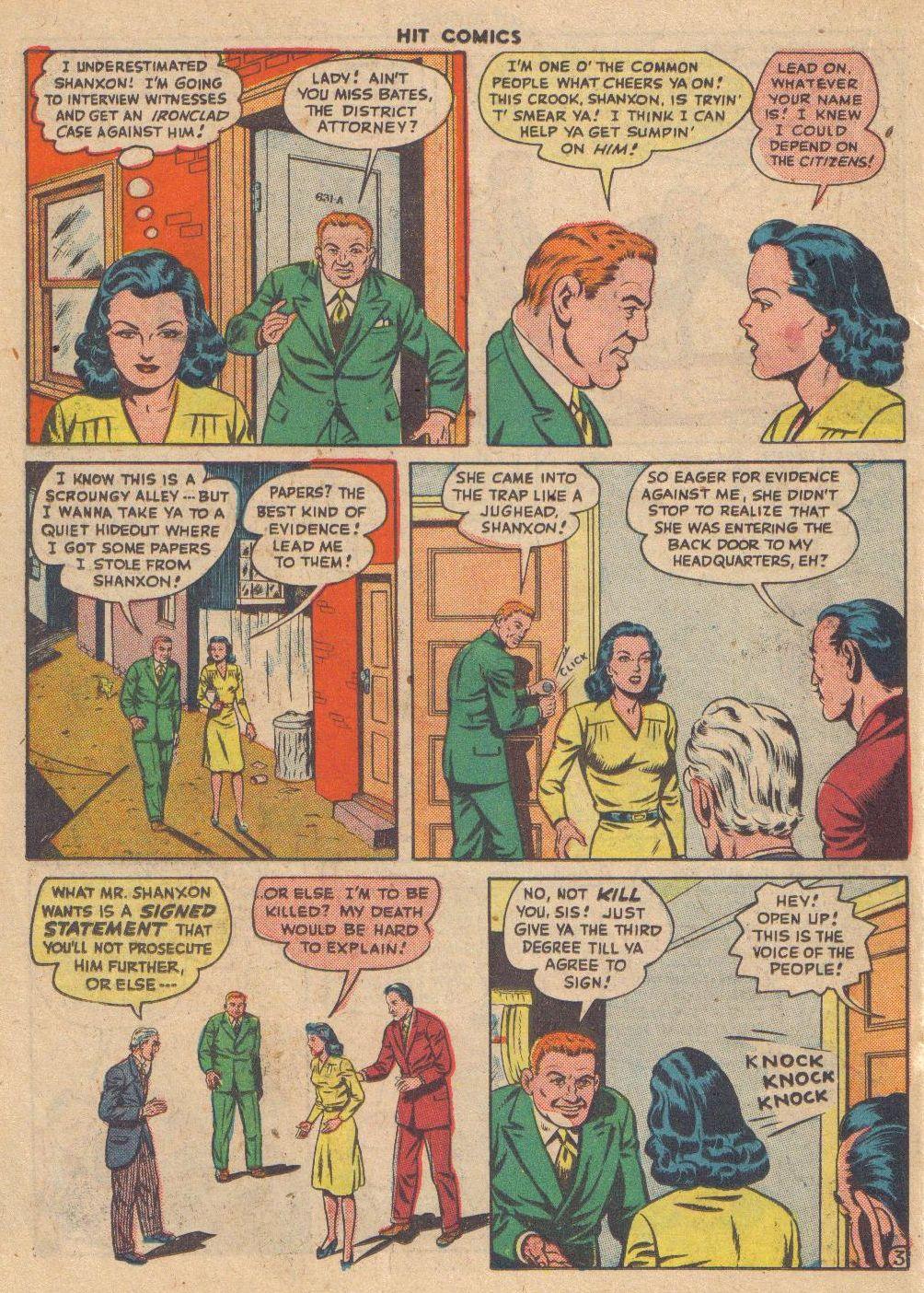 Read online Hit Comics comic -  Issue #46 - 32