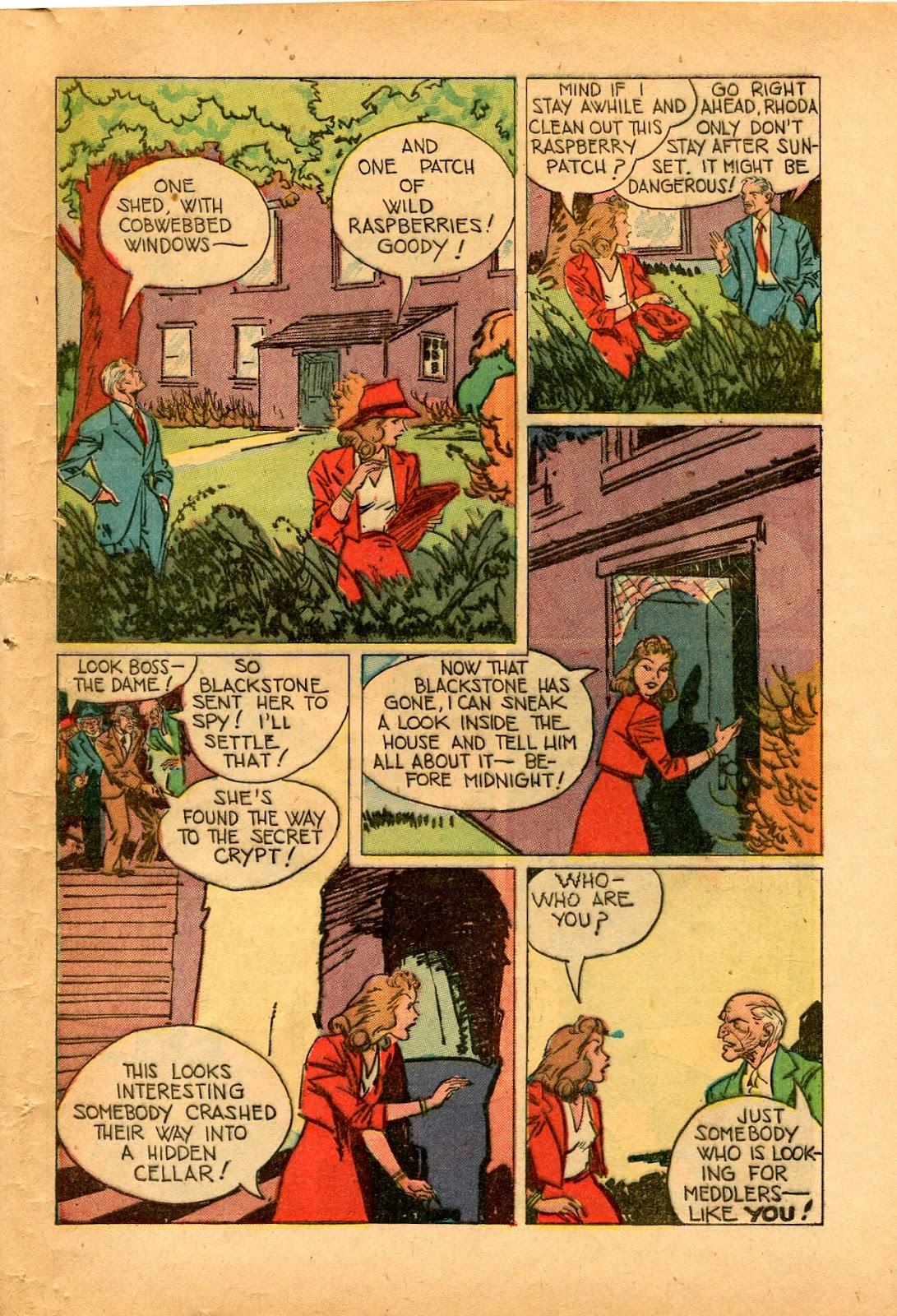 Read online Super-Magician Comics comic -  Issue #33 - 41