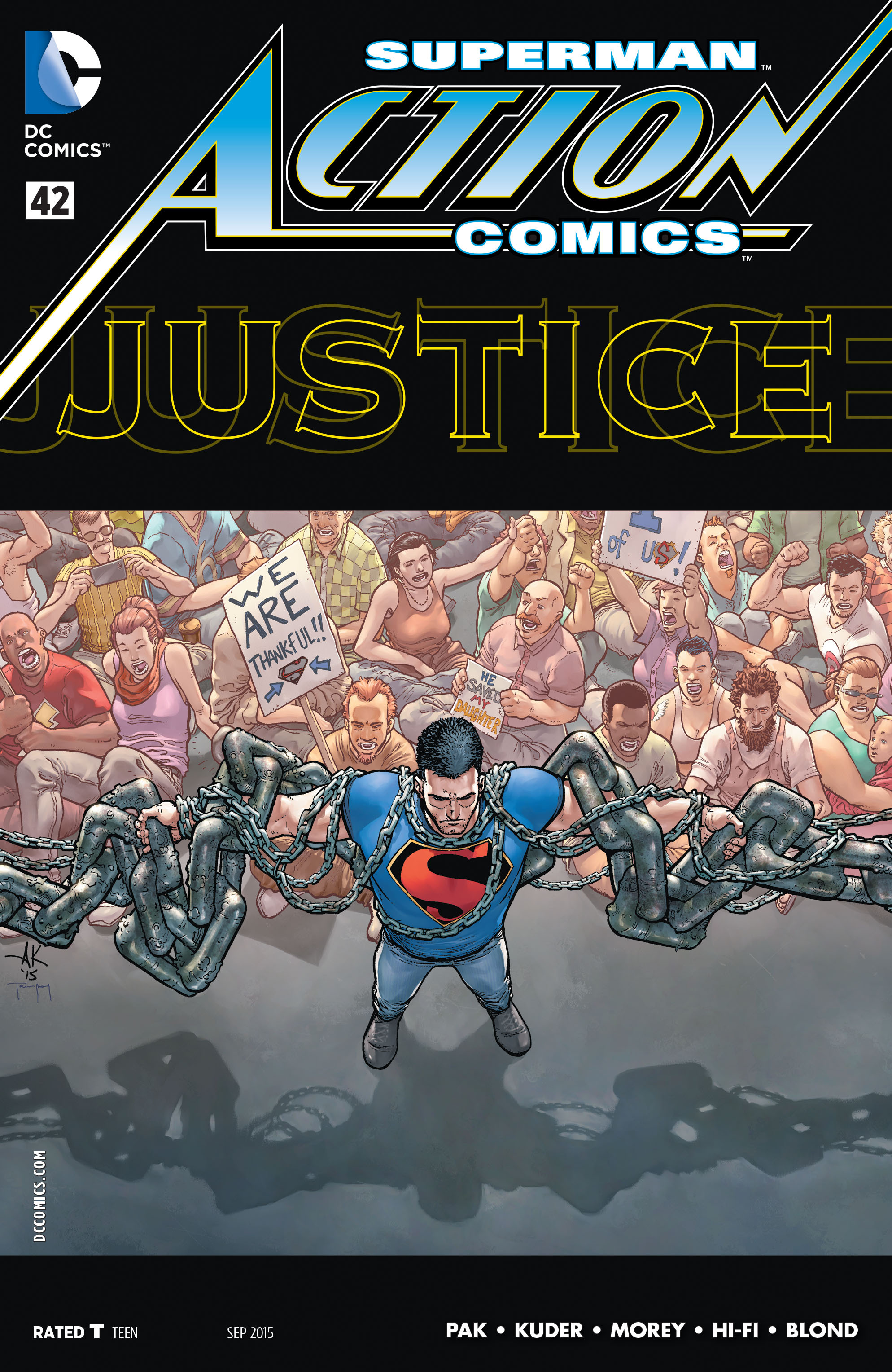 Read online Action Comics (2011) comic -  Issue #42 - 1