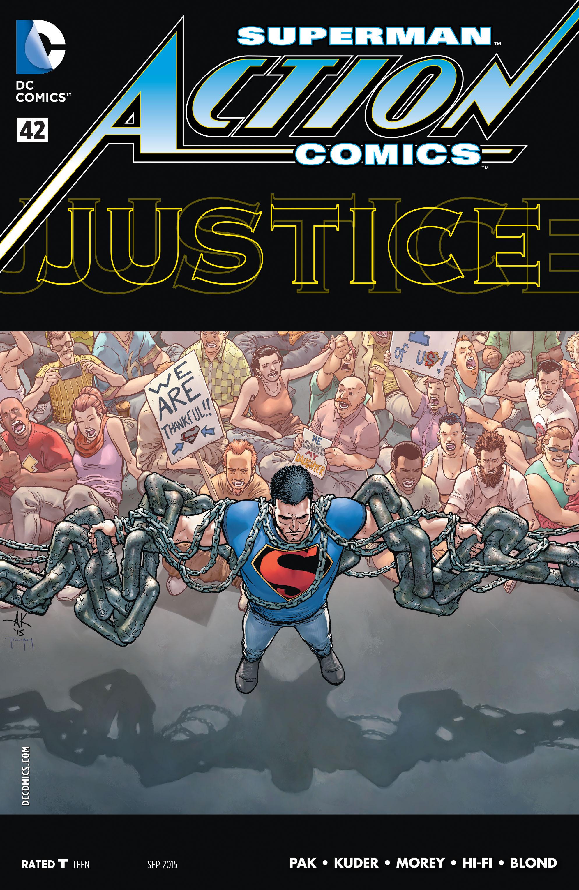 Action Comics (2011) 42 Page 1