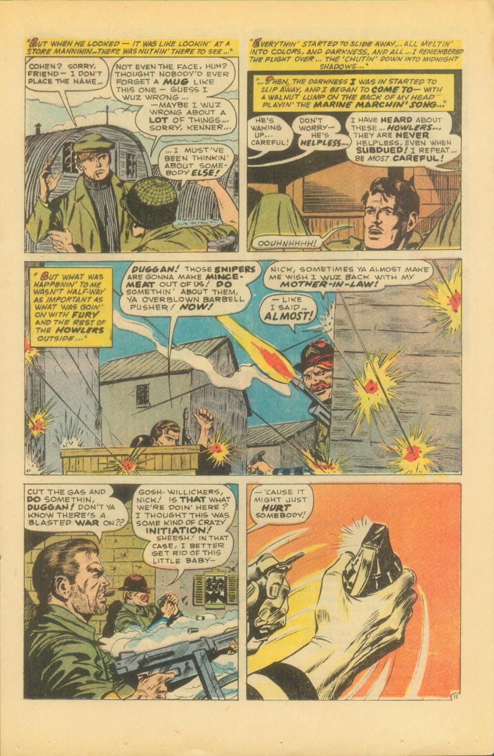 Read online Sgt. Fury comic -  Issue #86 - 17