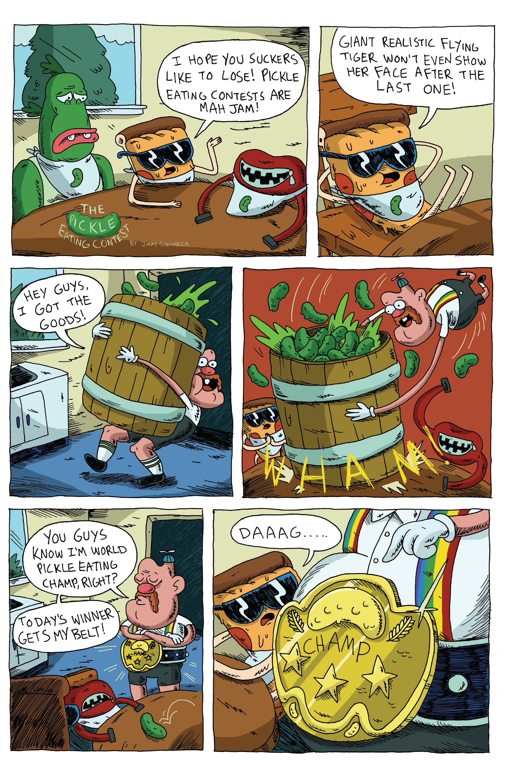 Read online Uncle Grandpa comic -  Issue #3 - 4