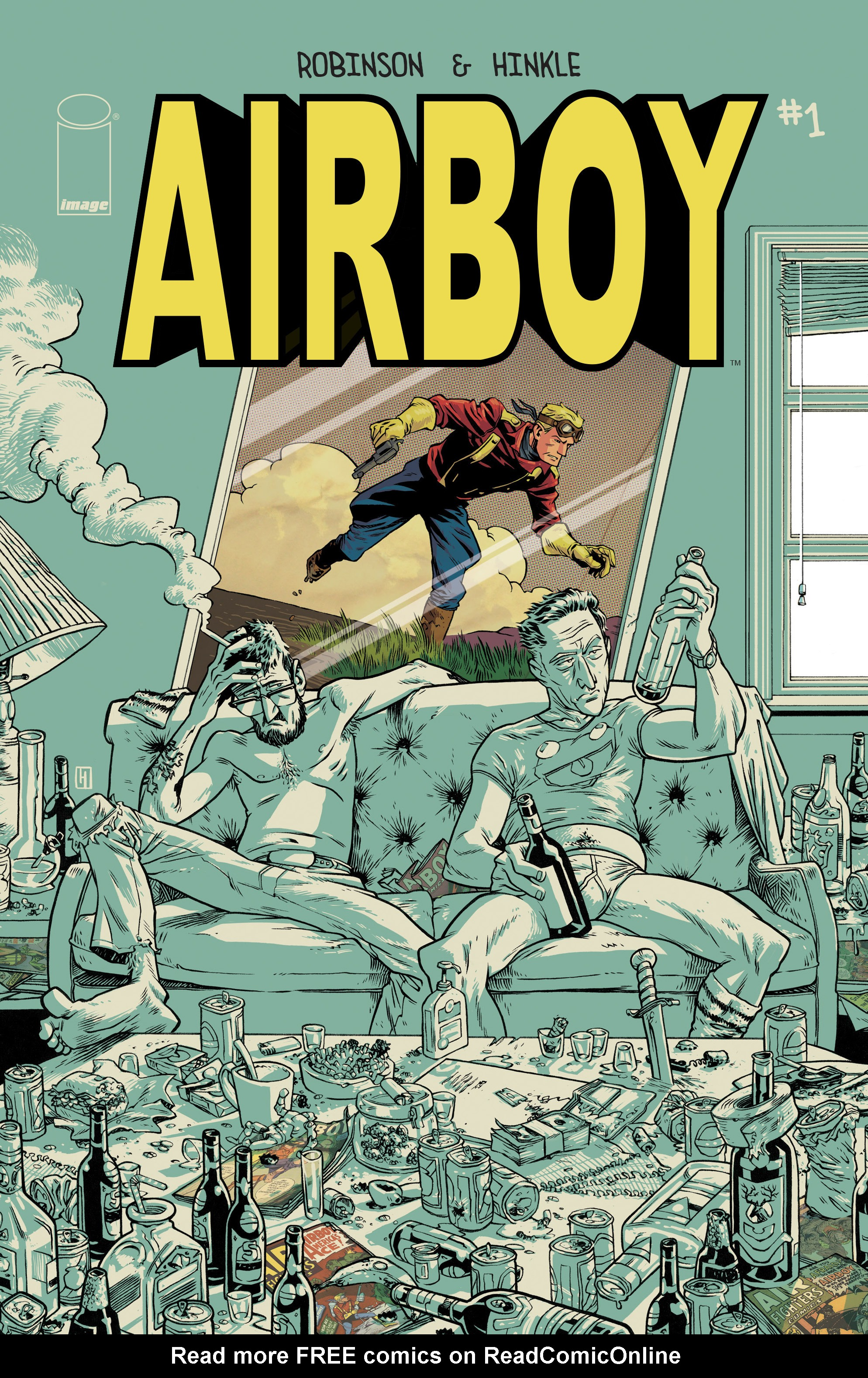 Read online Airboy comic -  Issue #1 - 1