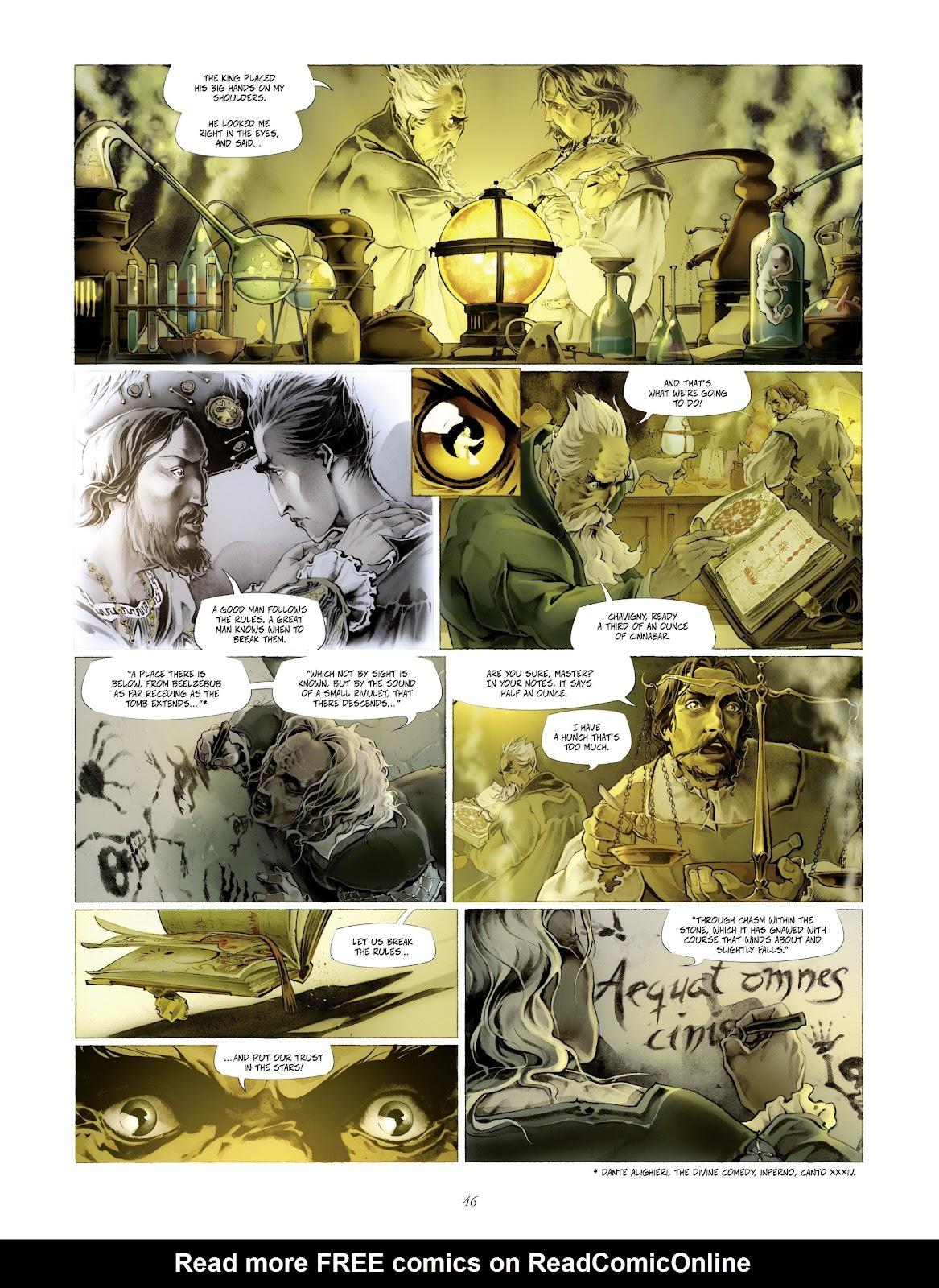 Read online Arthus Trivium comic -  Issue #4 - 48