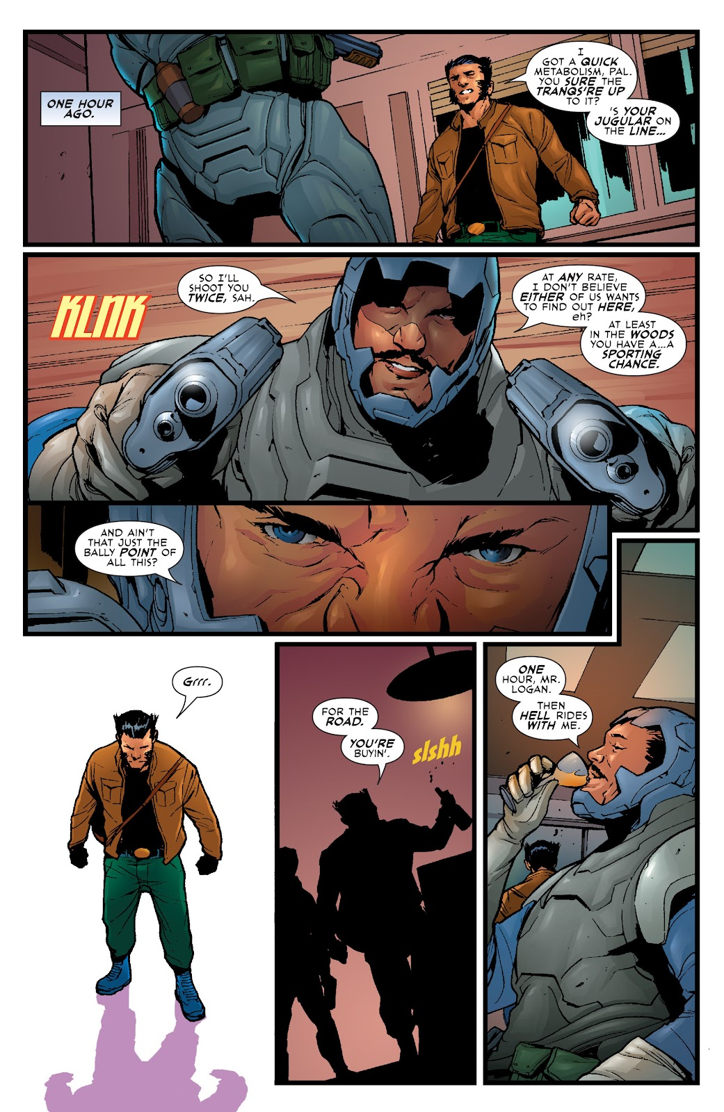 Wolverine: Dangerous Games issue Full - Page 21