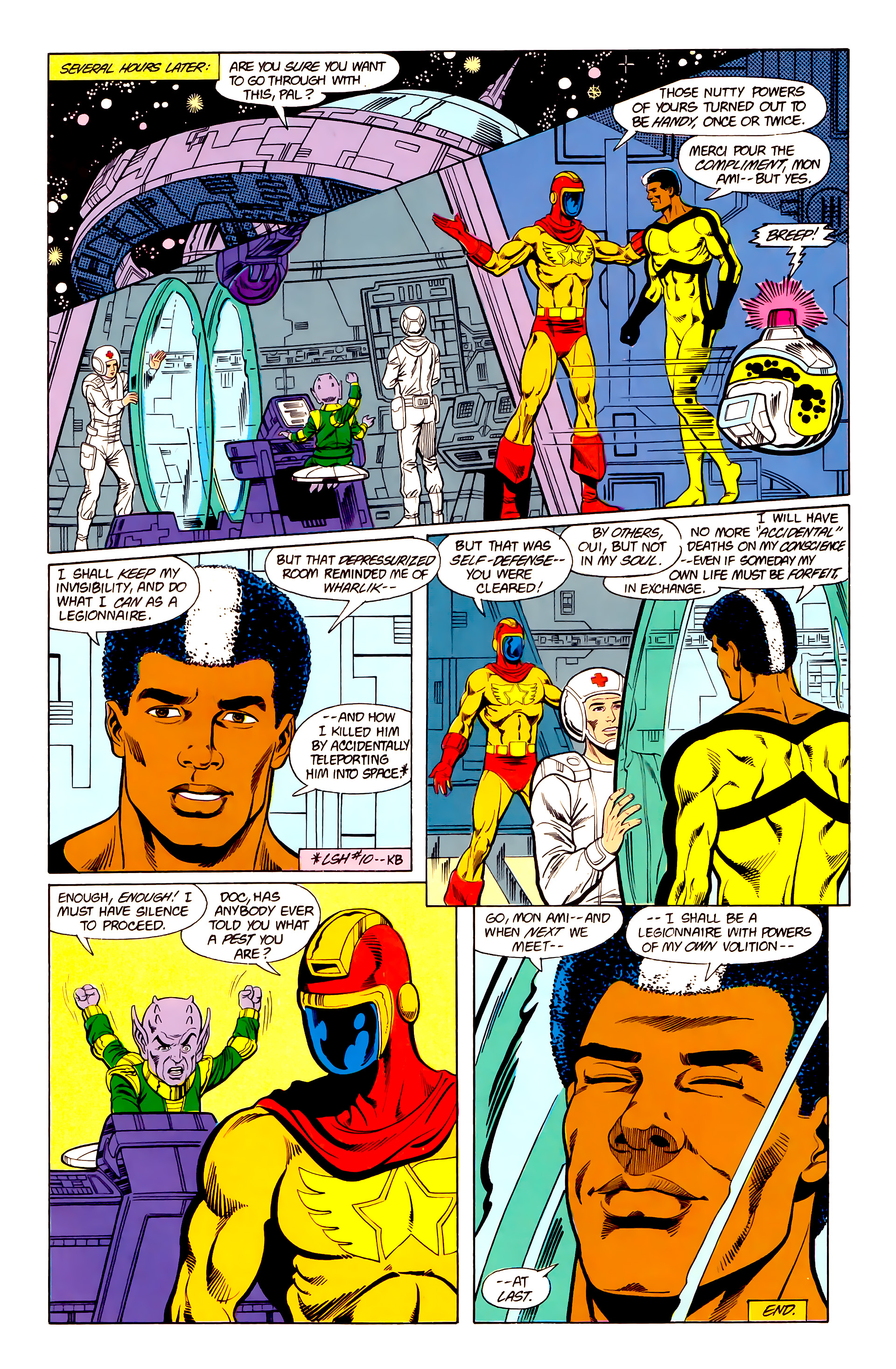 Legion of Super-Heroes (1984) 19 Page 29