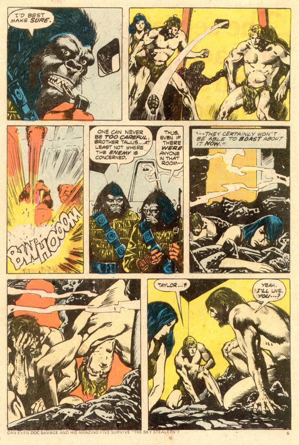 Read online Adventures on the Planet of the Apes comic -  Issue #11 - 5