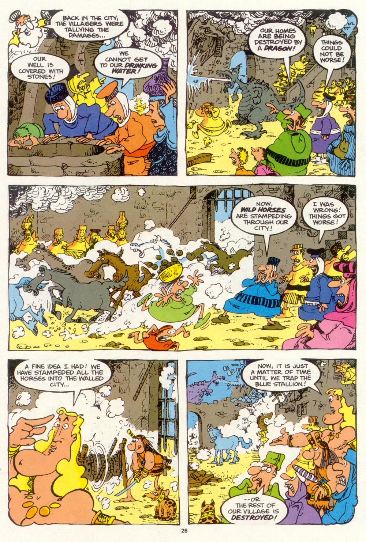 Read online Sergio Aragonés Groo the Wanderer comic -  Issue #98 - 27