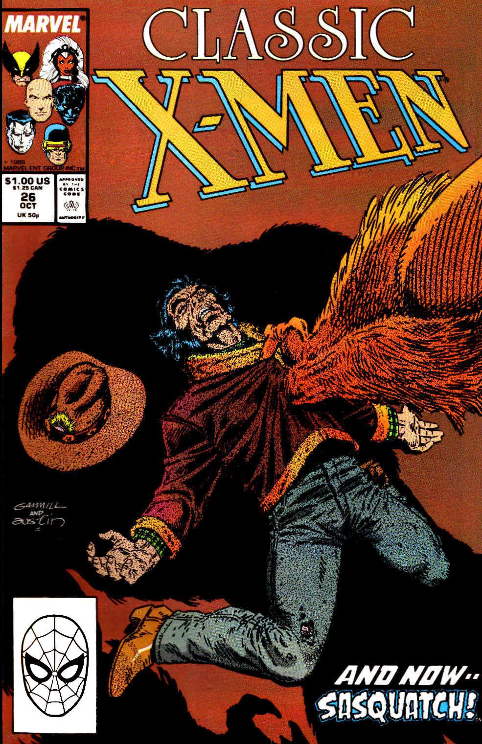 Classic X-Men 26 Page 1