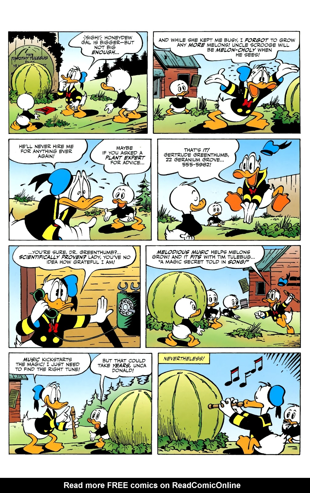 Walt Disney's Comics and Stories issue 730 - Page 8