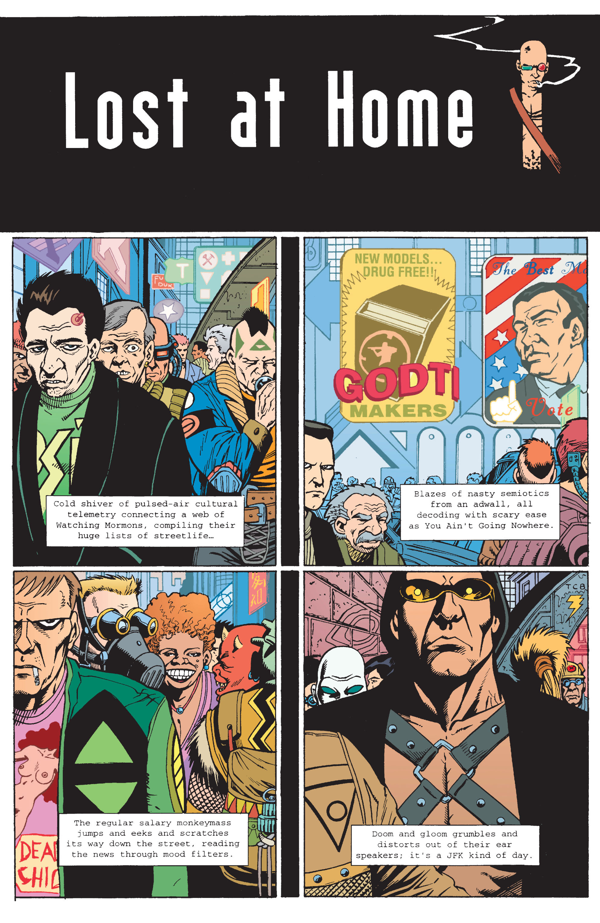 Read online Transmetropolitan comic -  Issue #11 - 11