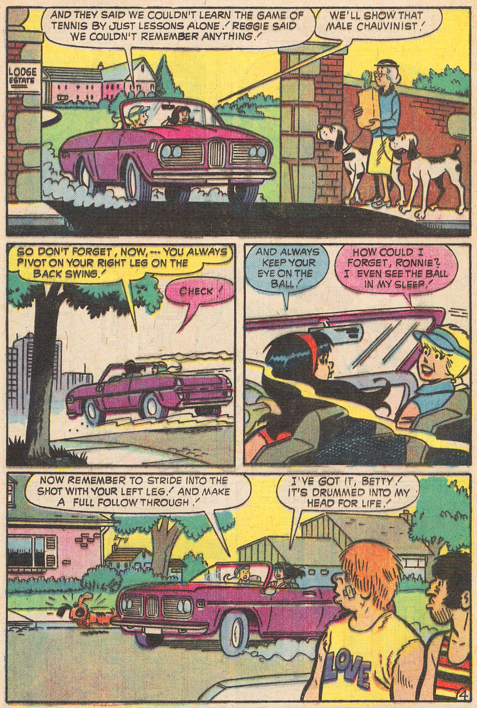 Read online Archie's Girls Betty and Veronica comic -  Issue #237 - 31