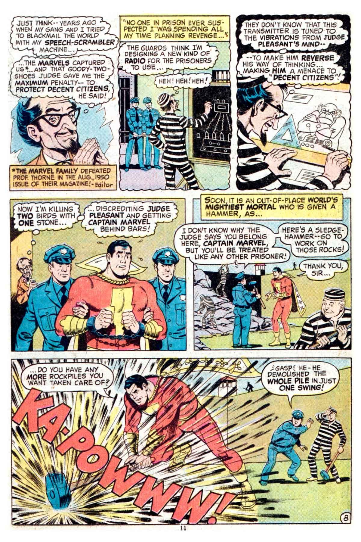 Read online Shazam! (1973) comic -  Issue #16 - 11