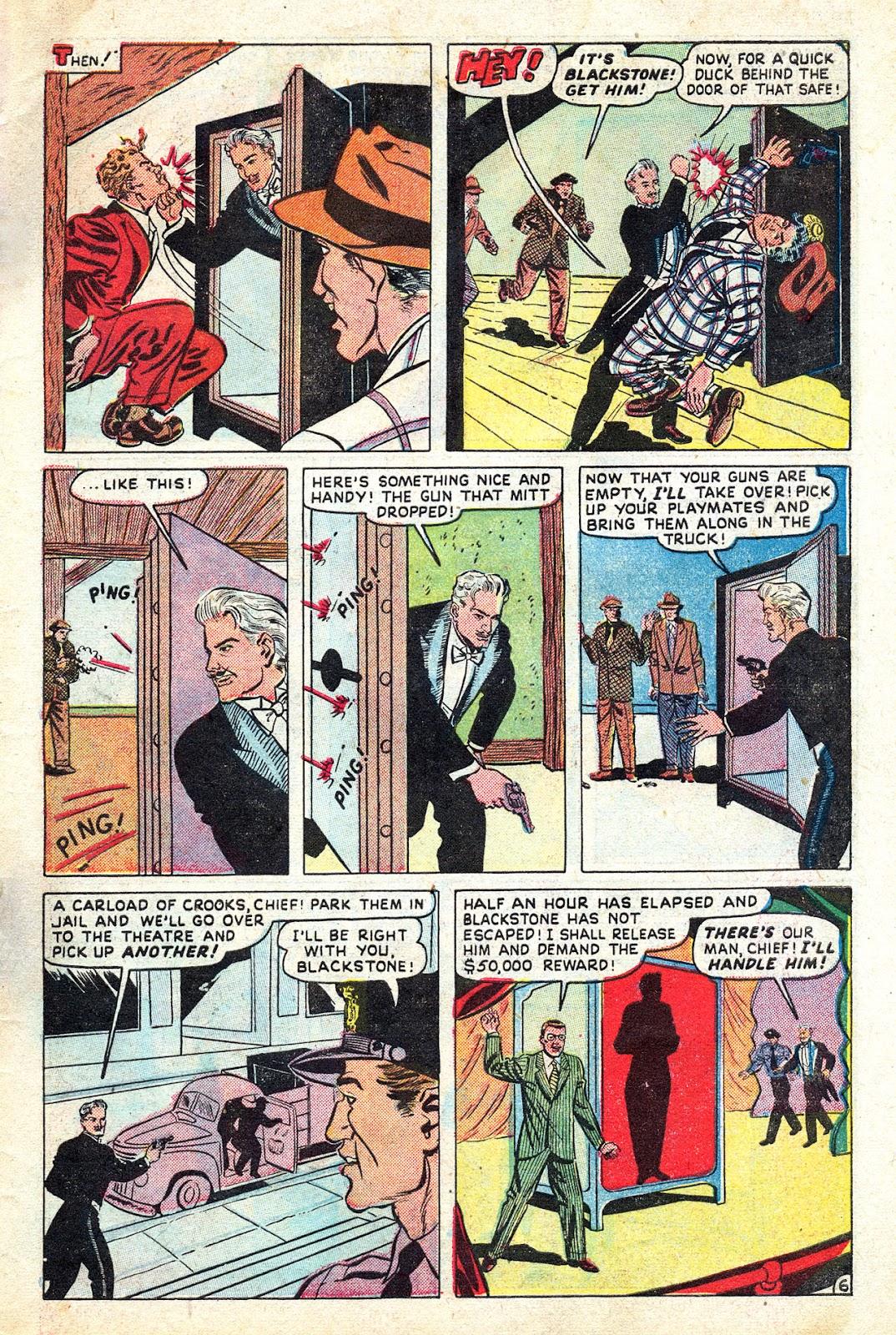 Read online Blackstone the Magician comic -  Issue #4 - 31