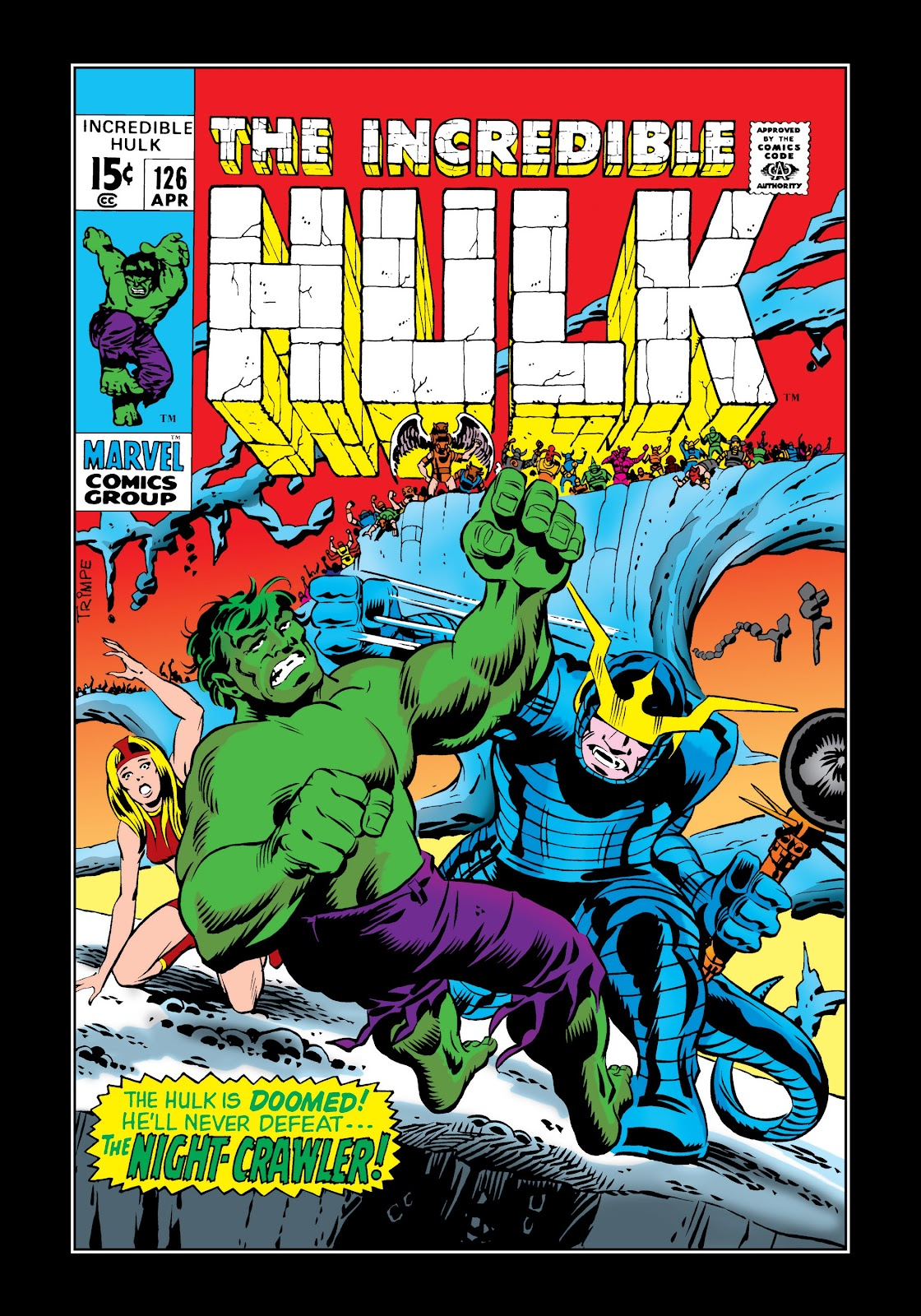 Read online Marvel Masterworks: The Incredible Hulk comic -  Issue # TPB 6 (Part 1) - 93