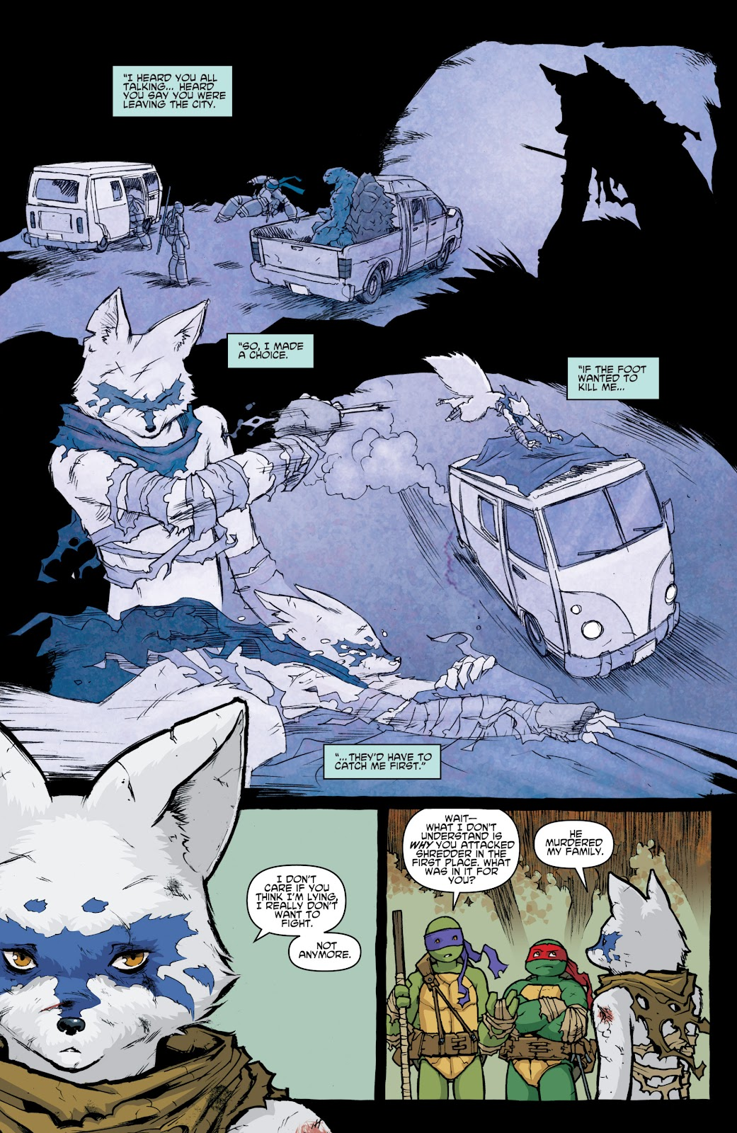 Read online Teenage Mutant Ninja Turtles: The IDW Collection comic -  Issue # TPB 4 (Part 1) - 20