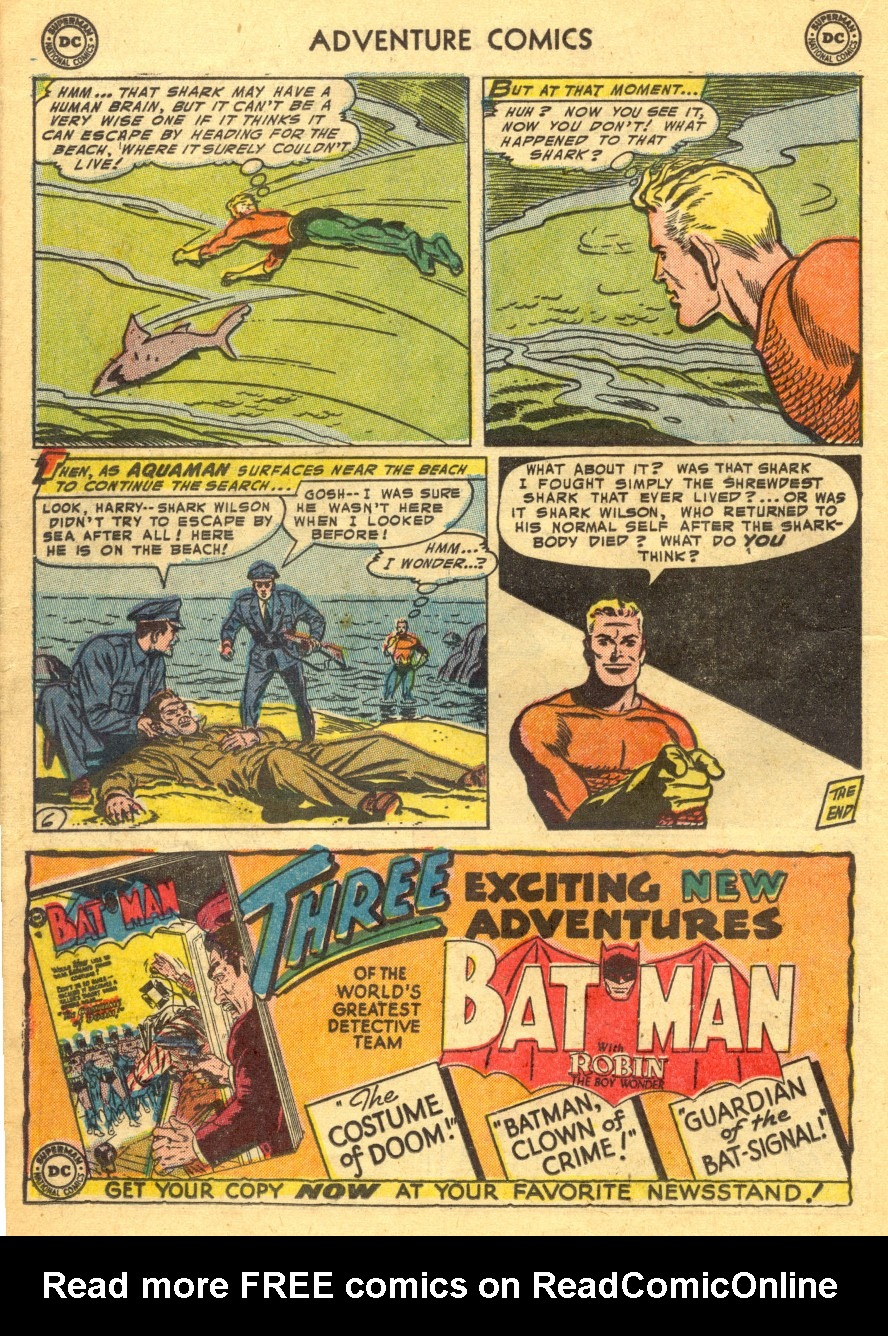 Read online Adventure Comics (1938) comic -  Issue #203 - 22
