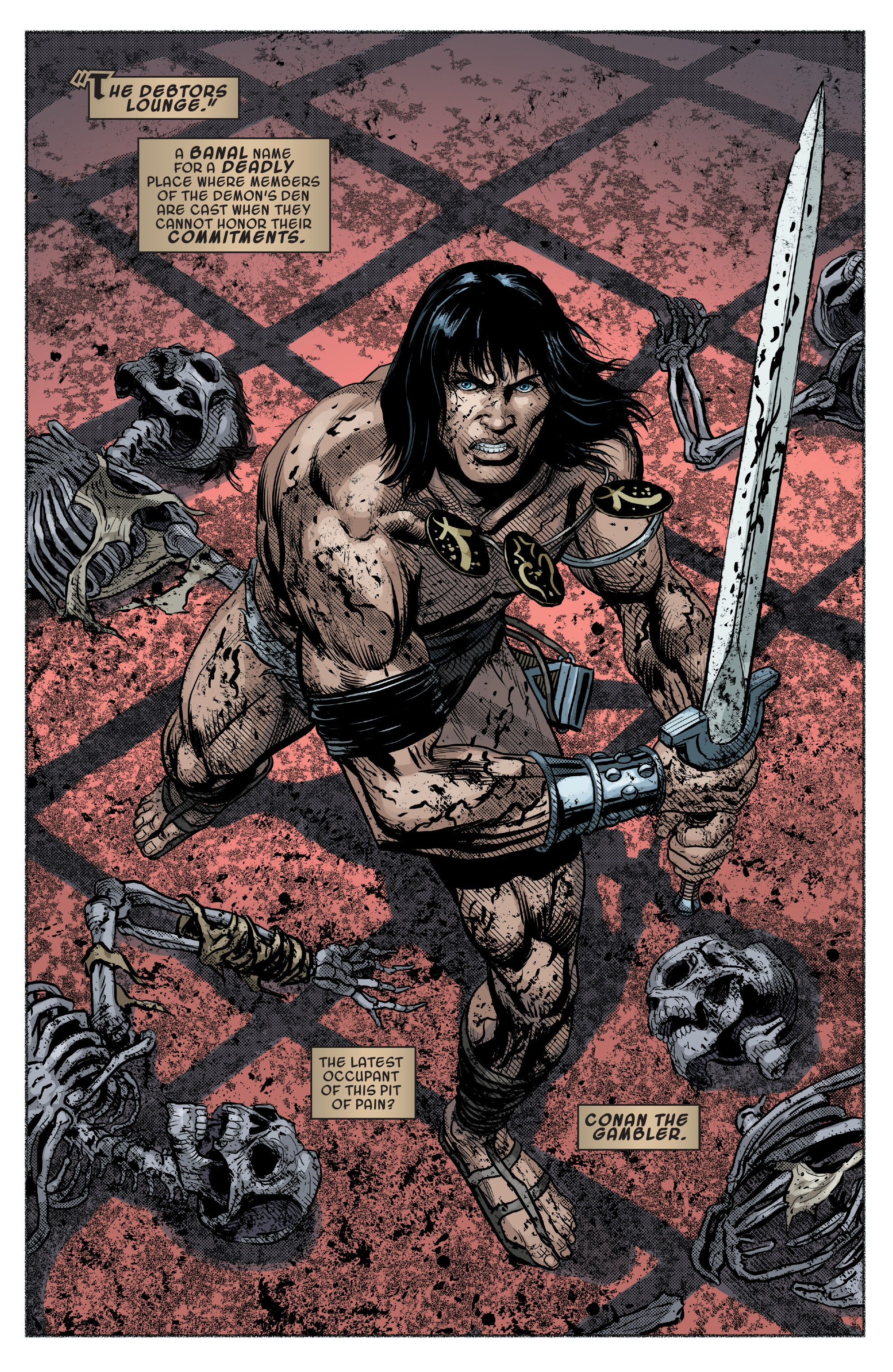 Read online Savage Sword of Conan comic -  Issue #9 - 4