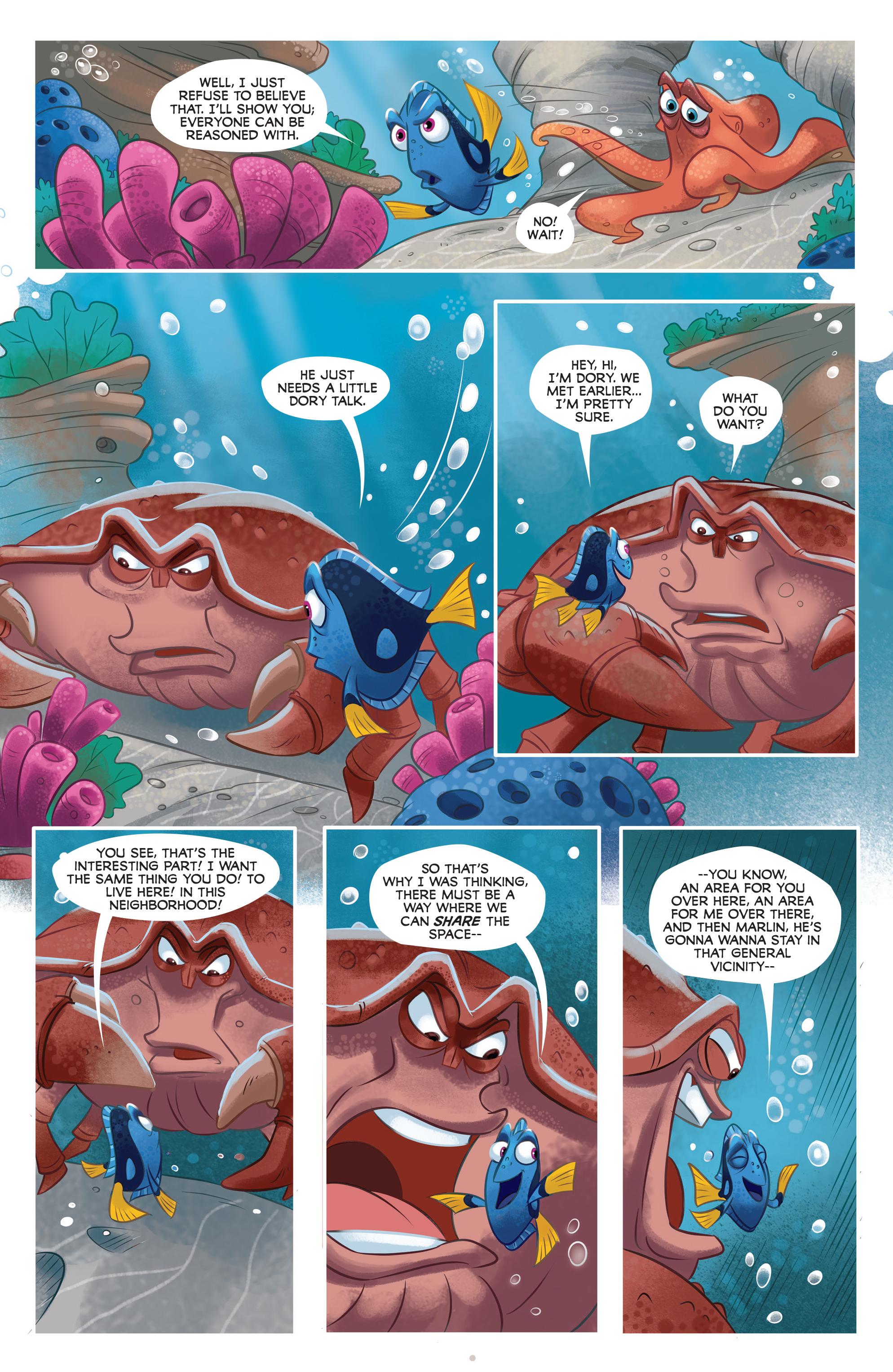 Read online Disney Pixar Finding Dory comic -  Issue #3 - 13