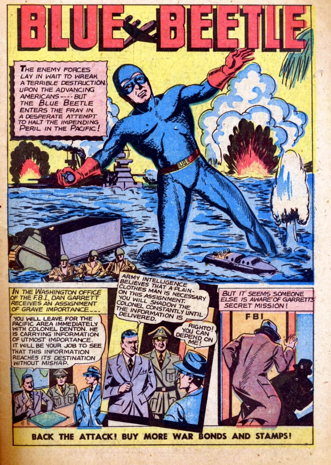 The Blue Beetle issue 31 - Page 15