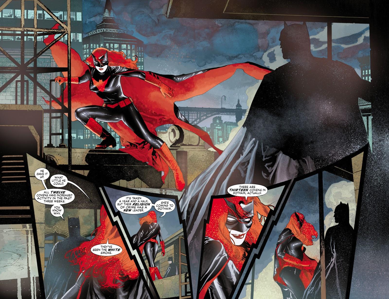 Read online Detective Comics (1937) comic -  Issue # _TPB Batwoman - Elegy (Part 1) - 14