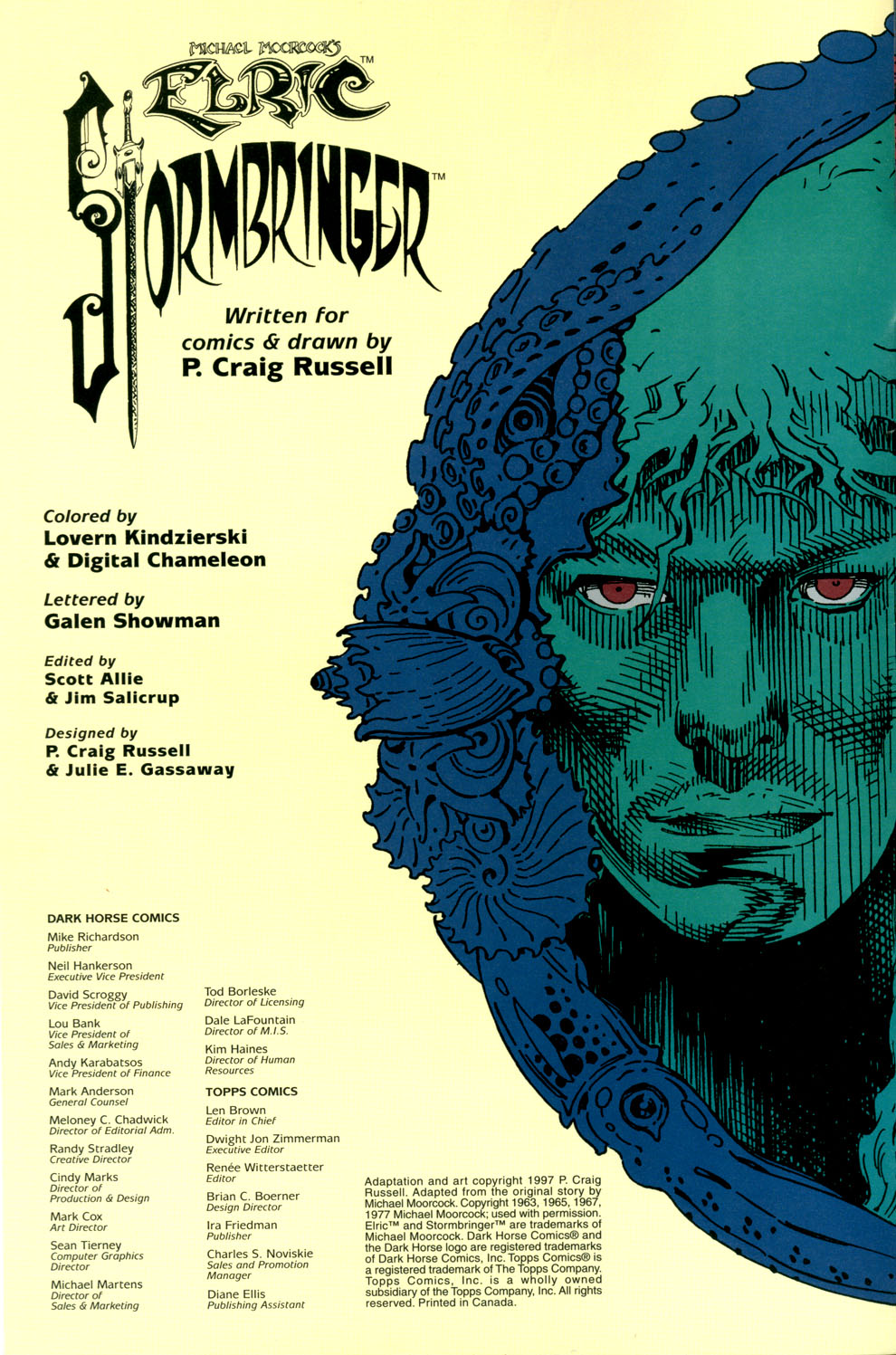 Read online Elric: Stormbringer comic -  Issue #4 - 2