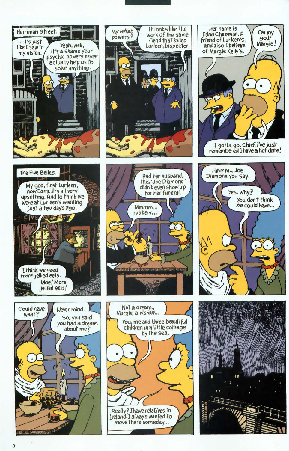Read online Treehouse of Horror comic -  Issue #9 - 40