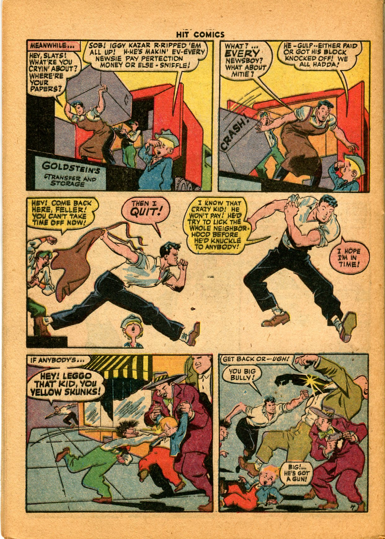 Read online Hit Comics comic -  Issue #35 - 44
