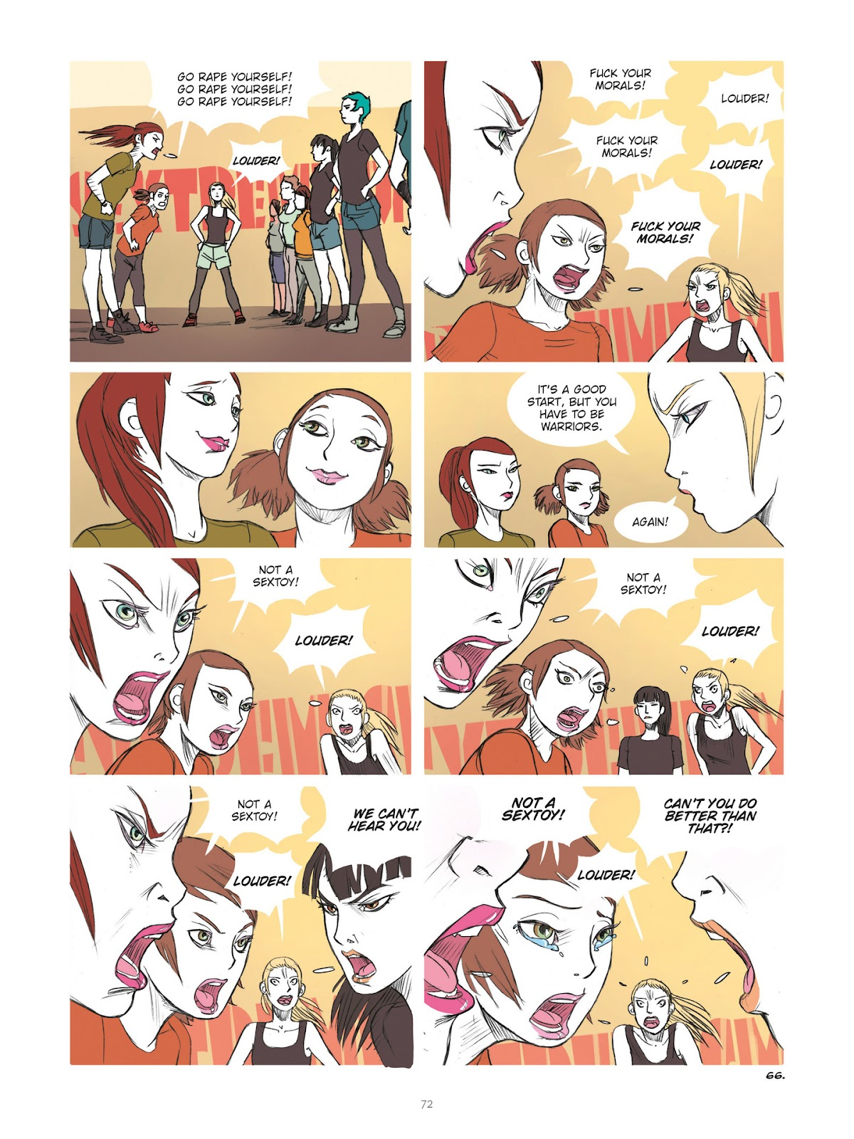 Read online Diary of A Femen comic -  Issue # TPB - 74
