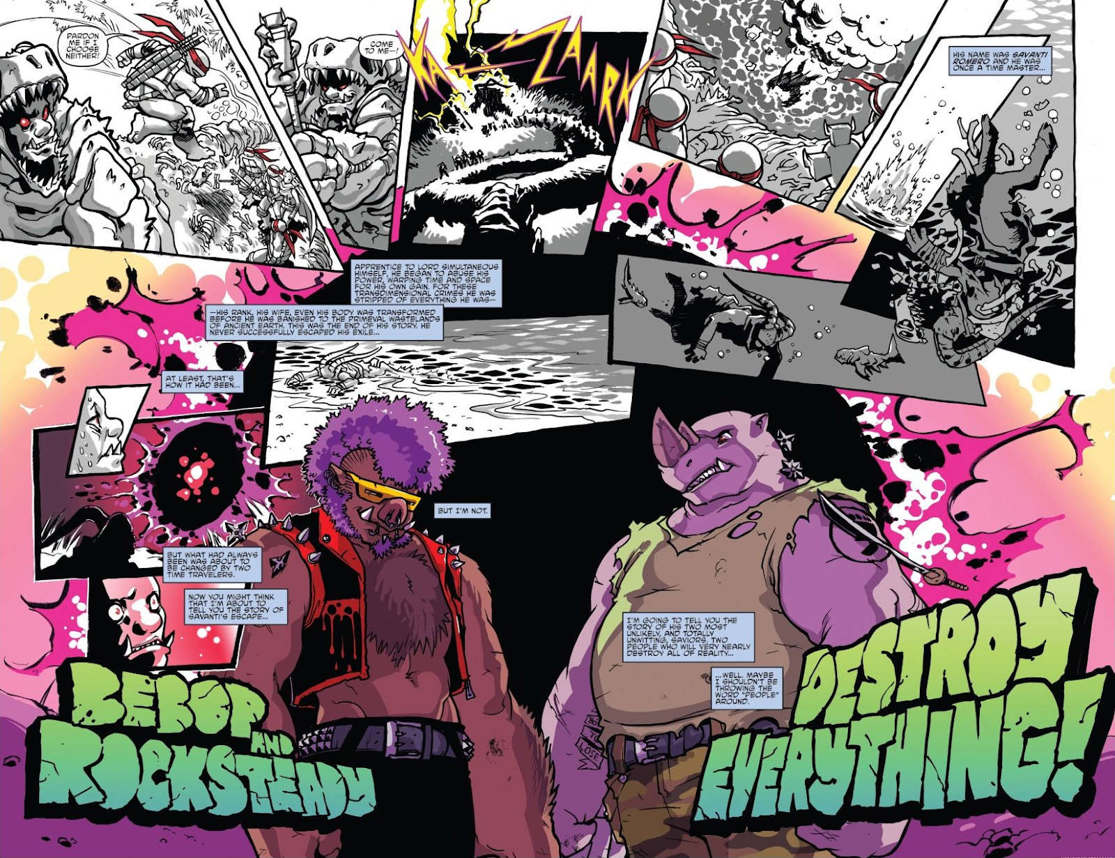 Read online Teenage Mutant Ninja Turtles: The IDW Collection comic -  Issue # TPB 8 (Part 1) - 9
