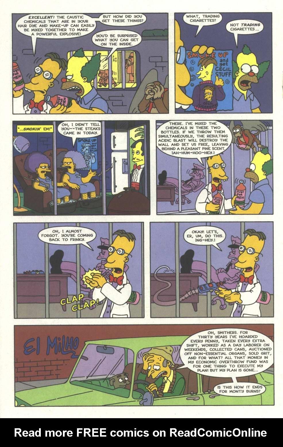 Read online Simpsons Comics comic -  Issue #33 - 17