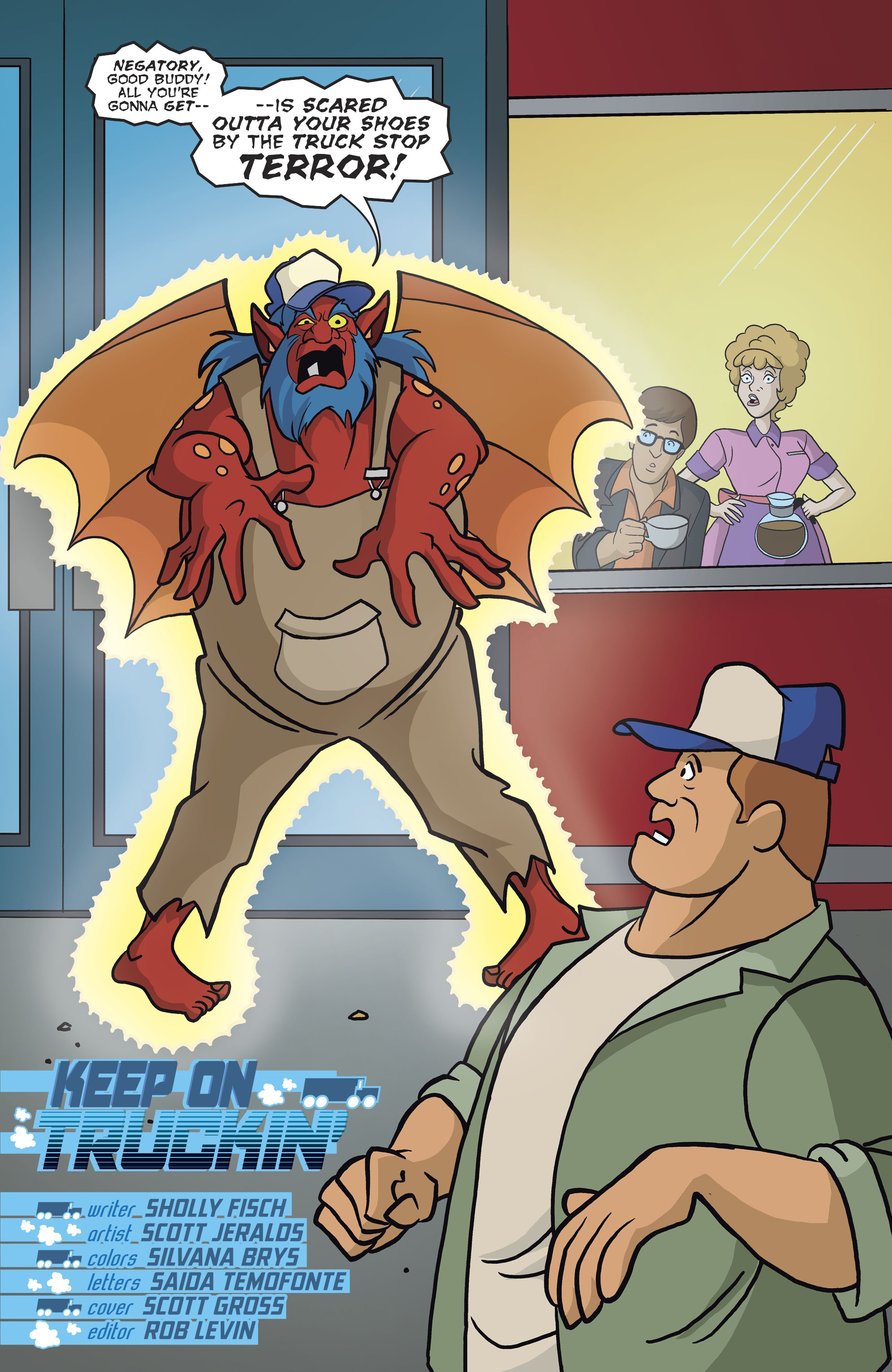 Read online Scooby-Doo: Where Are You? comic -  Issue #82 - 3