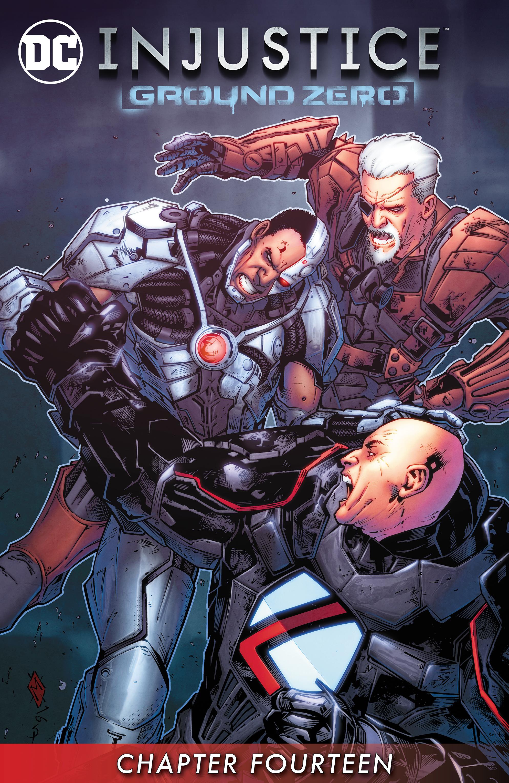 Read online Injustice: Ground Zero comic -  Issue #14 - 2