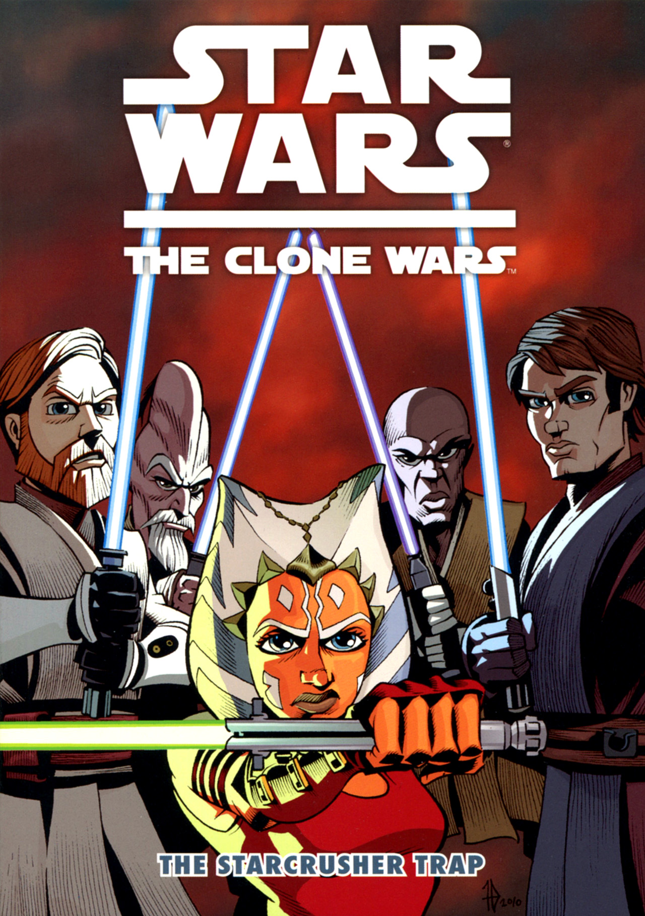 Read online Star Wars: The Clone Wars - The Starcrusher Trap comic -  Issue # Full - 1