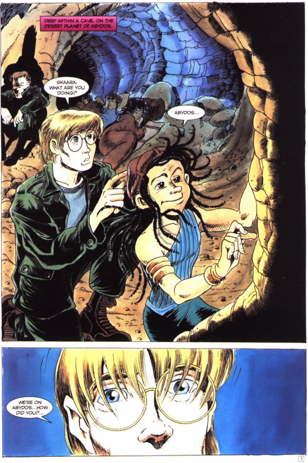 Read online Stargate comic -  Issue #4 - 3