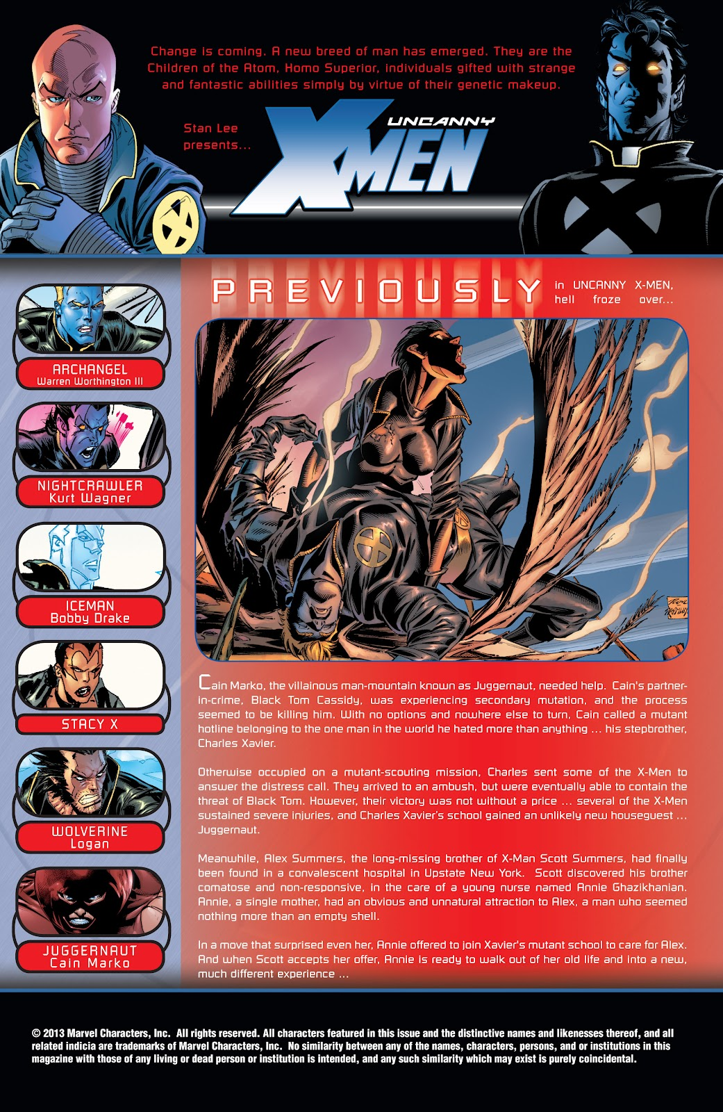 Uncanny X-Men (1963) issue 413 - Page 2