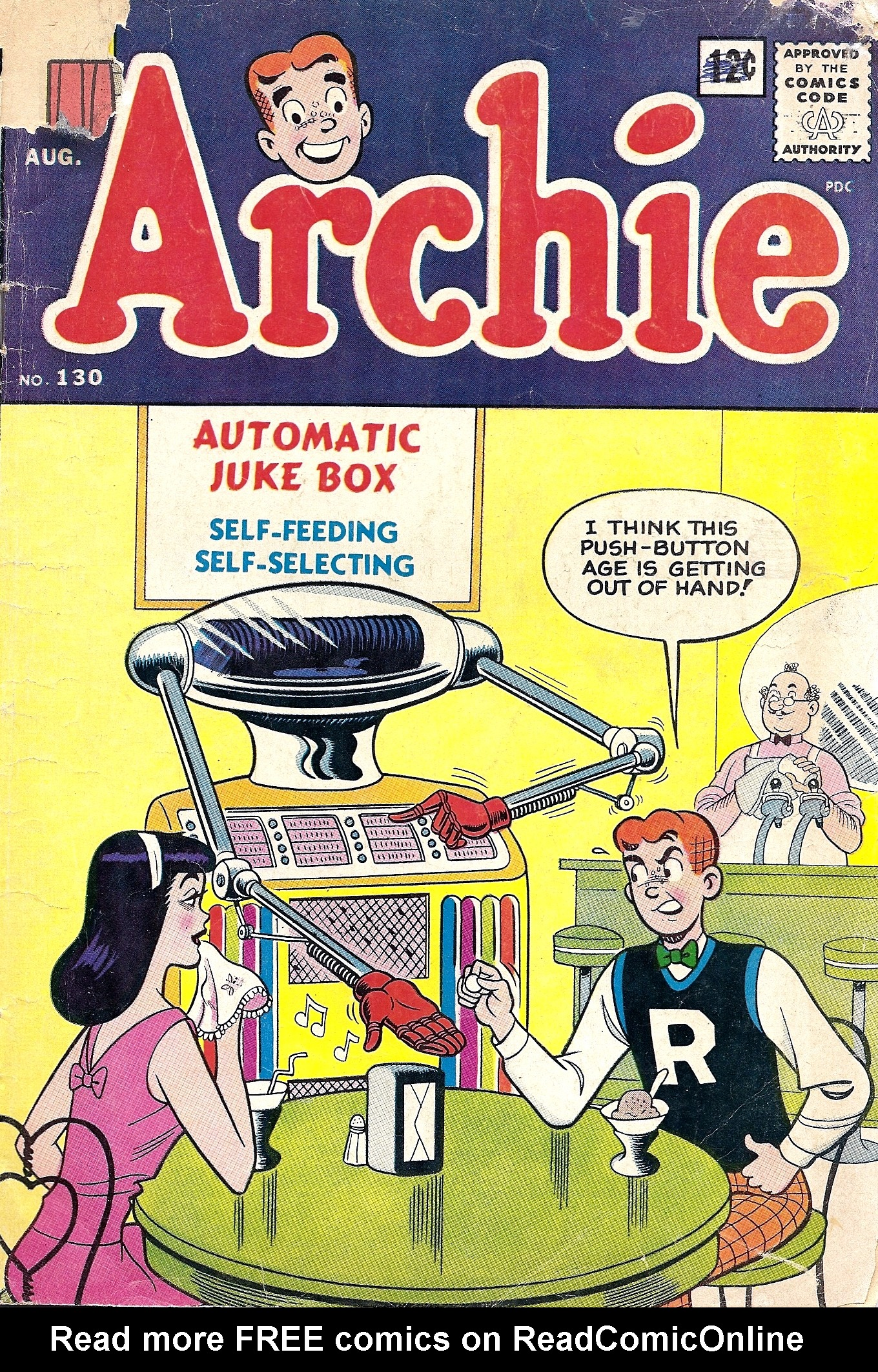 Read online Archie (1960) comic -  Issue #130 - 1