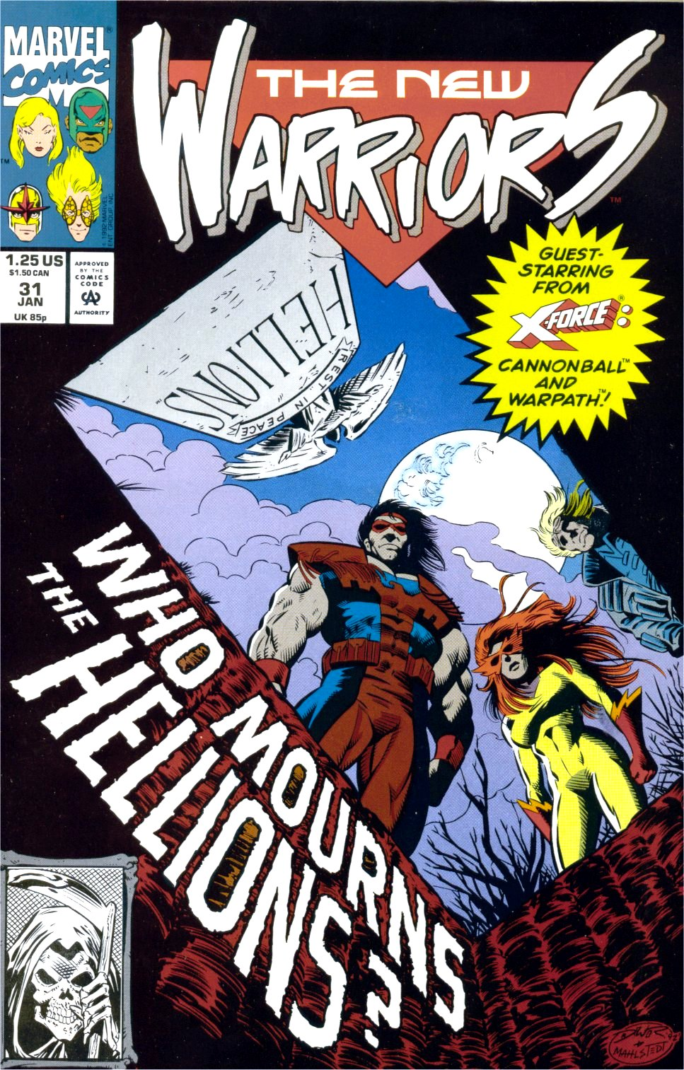 The New Warriors Issue #31 #35 - English 1